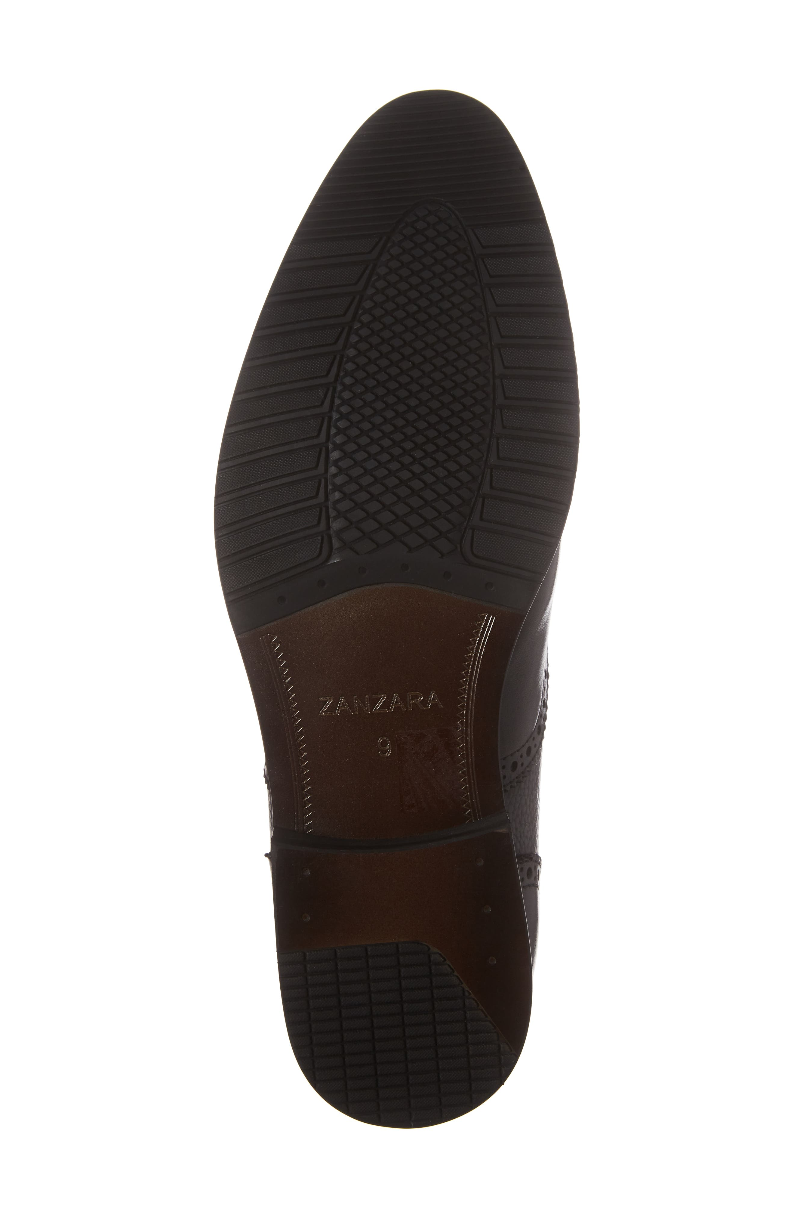 Hamel Chelsea Boot,                             Alternate thumbnail 6, color,                             Black Leather