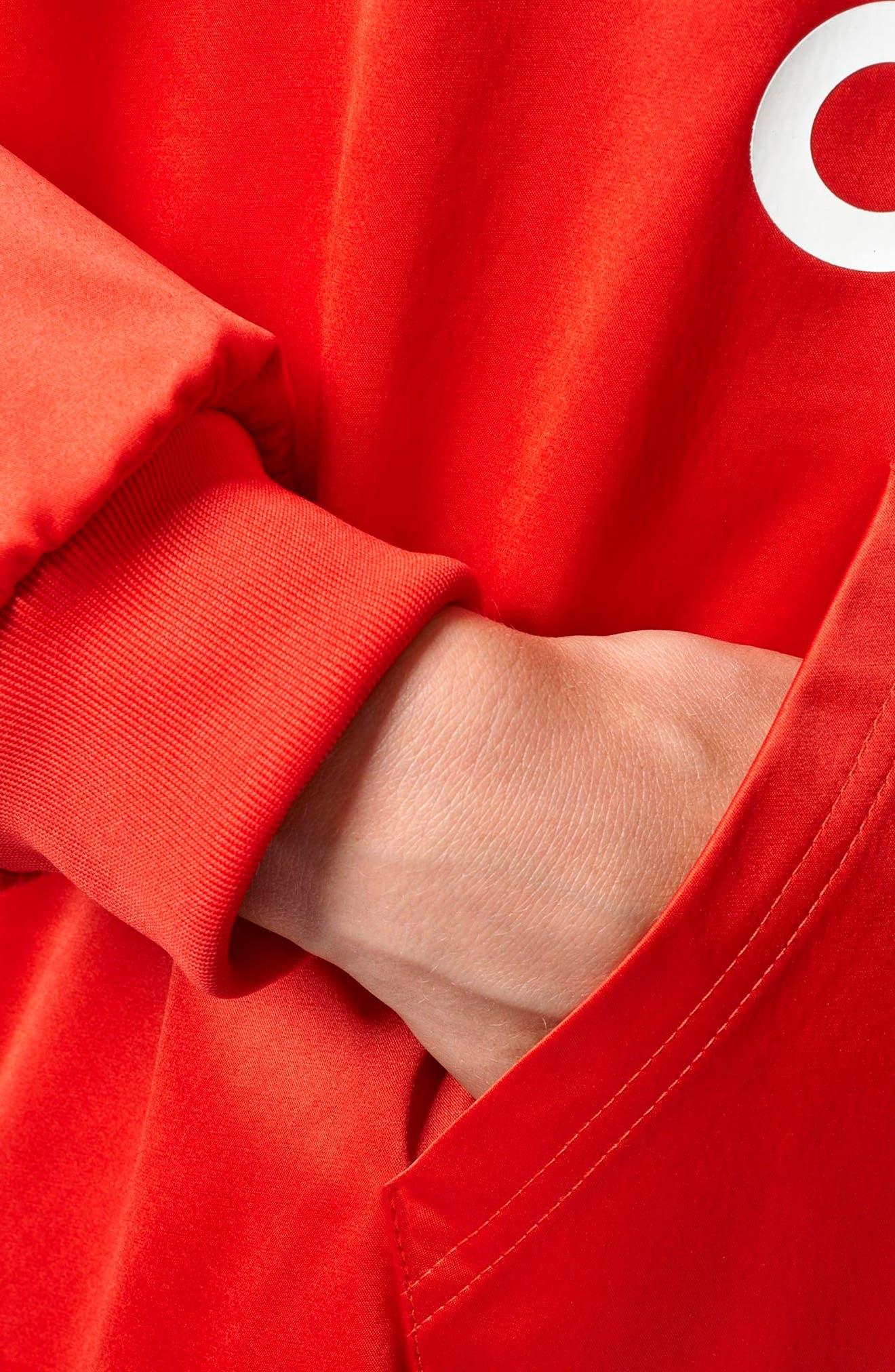Alternate Image 4  - adidas Originals Trefoil Hoodie