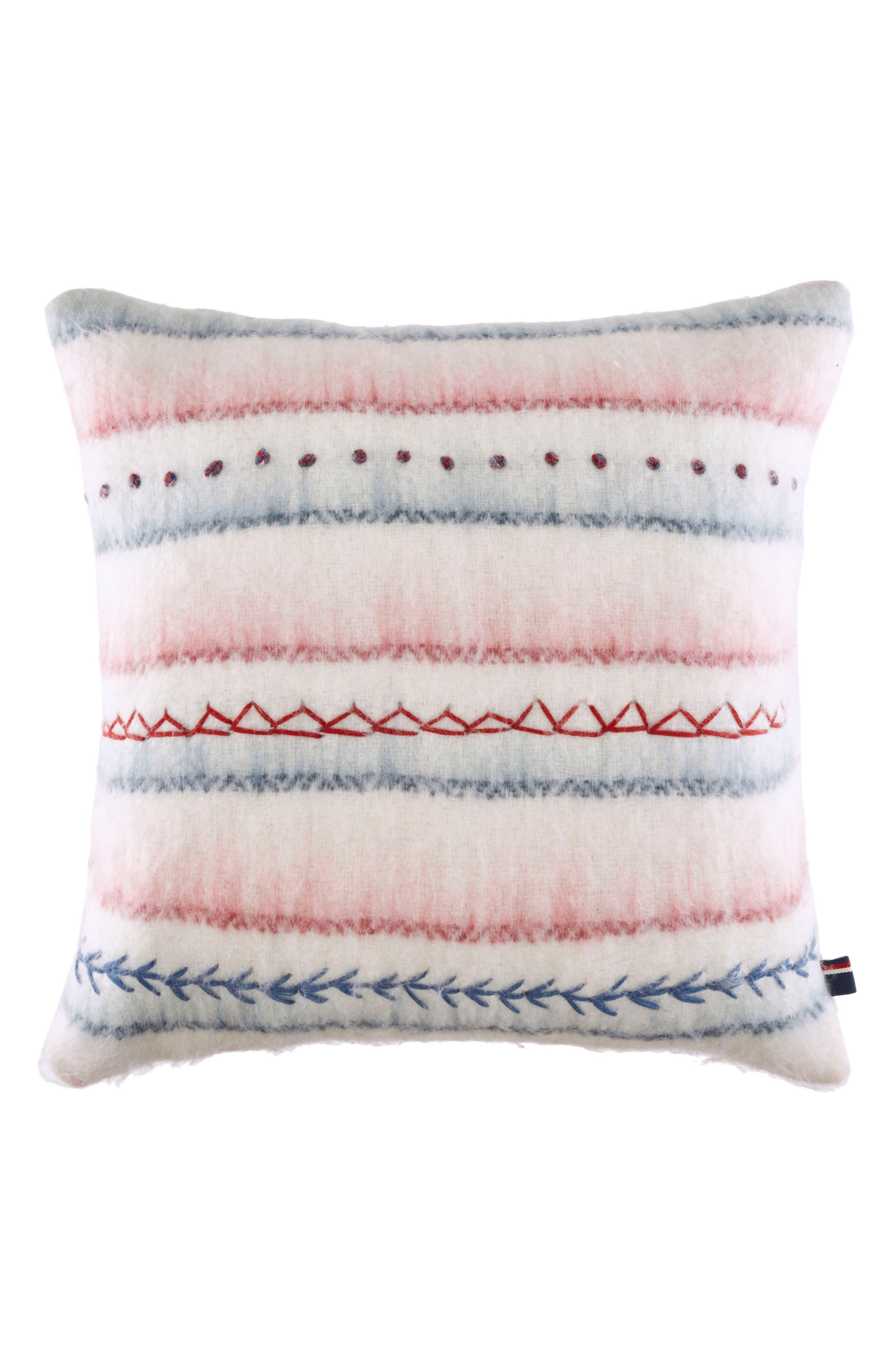 American Dream Accent Pillow,                         Main,                         color, Cream Multi