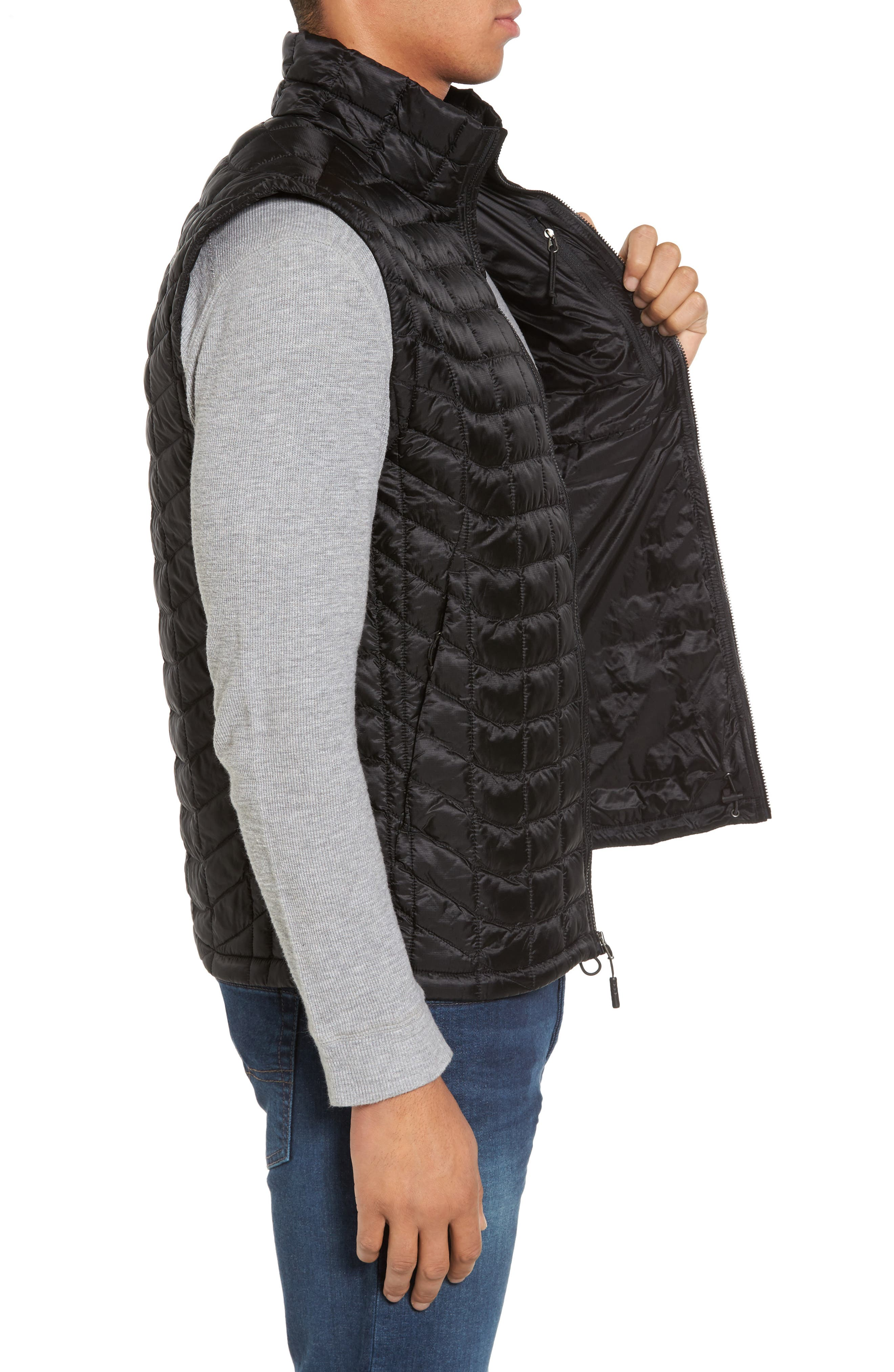 'ThermoBall<sup>™</sup>' Packable PrimaLoft<sup>®</sup> Vest,                             Alternate thumbnail 3, color,                             Black
