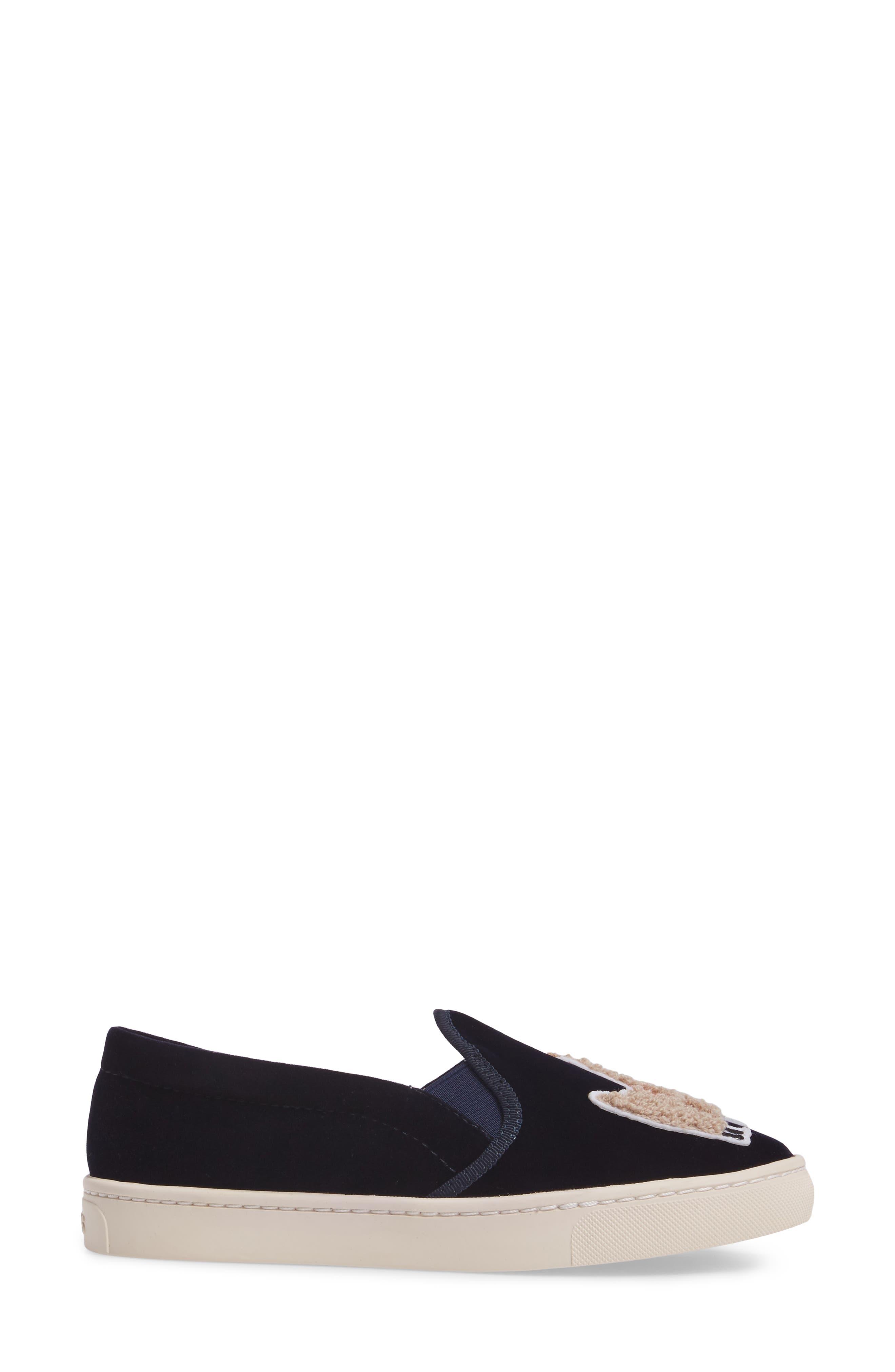 Alternate Image 3  - Soludos Velvet Sneaker (Women)