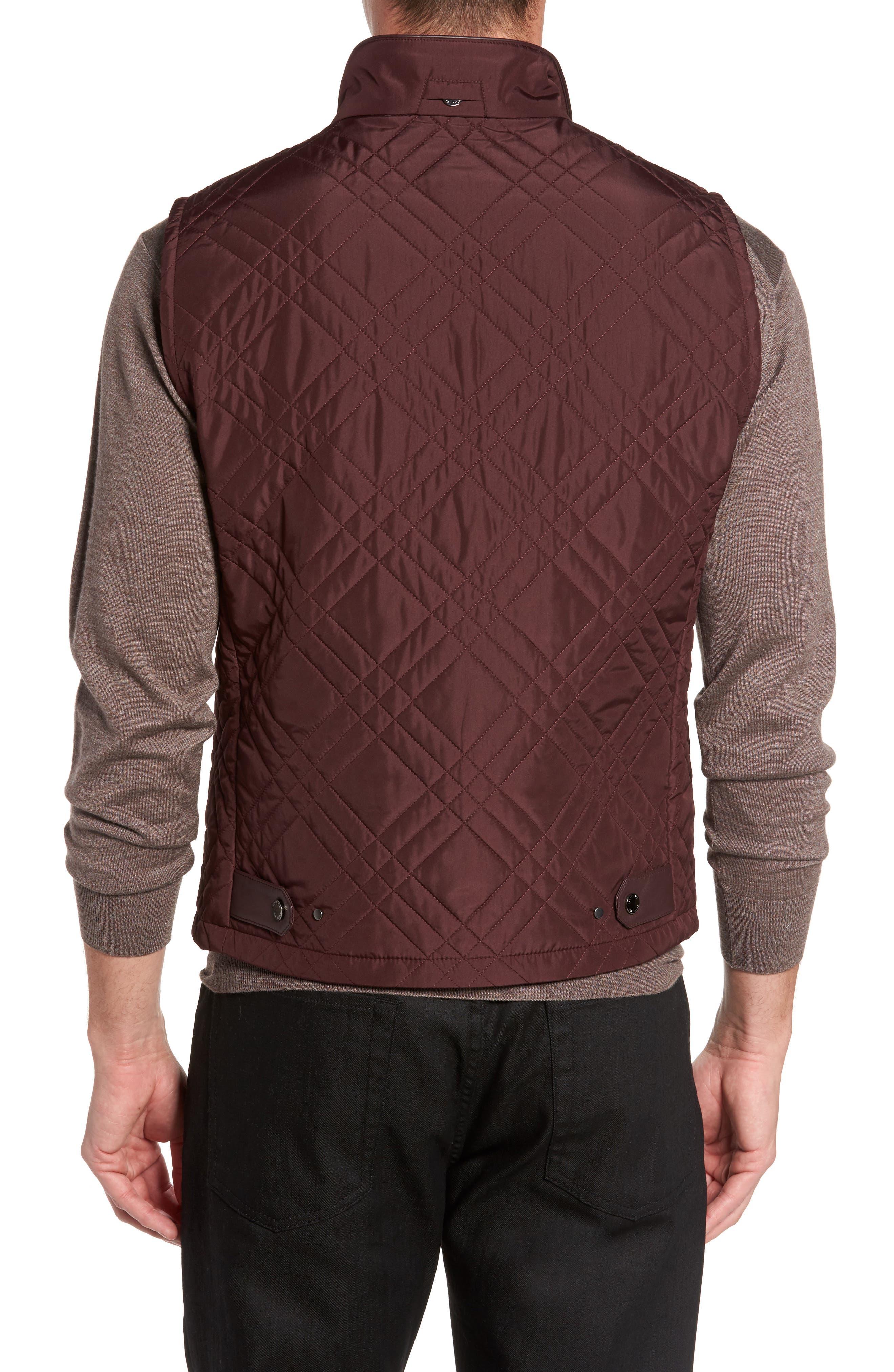 Alternate Image 2  - Pal Zileri Quilted Field Vest