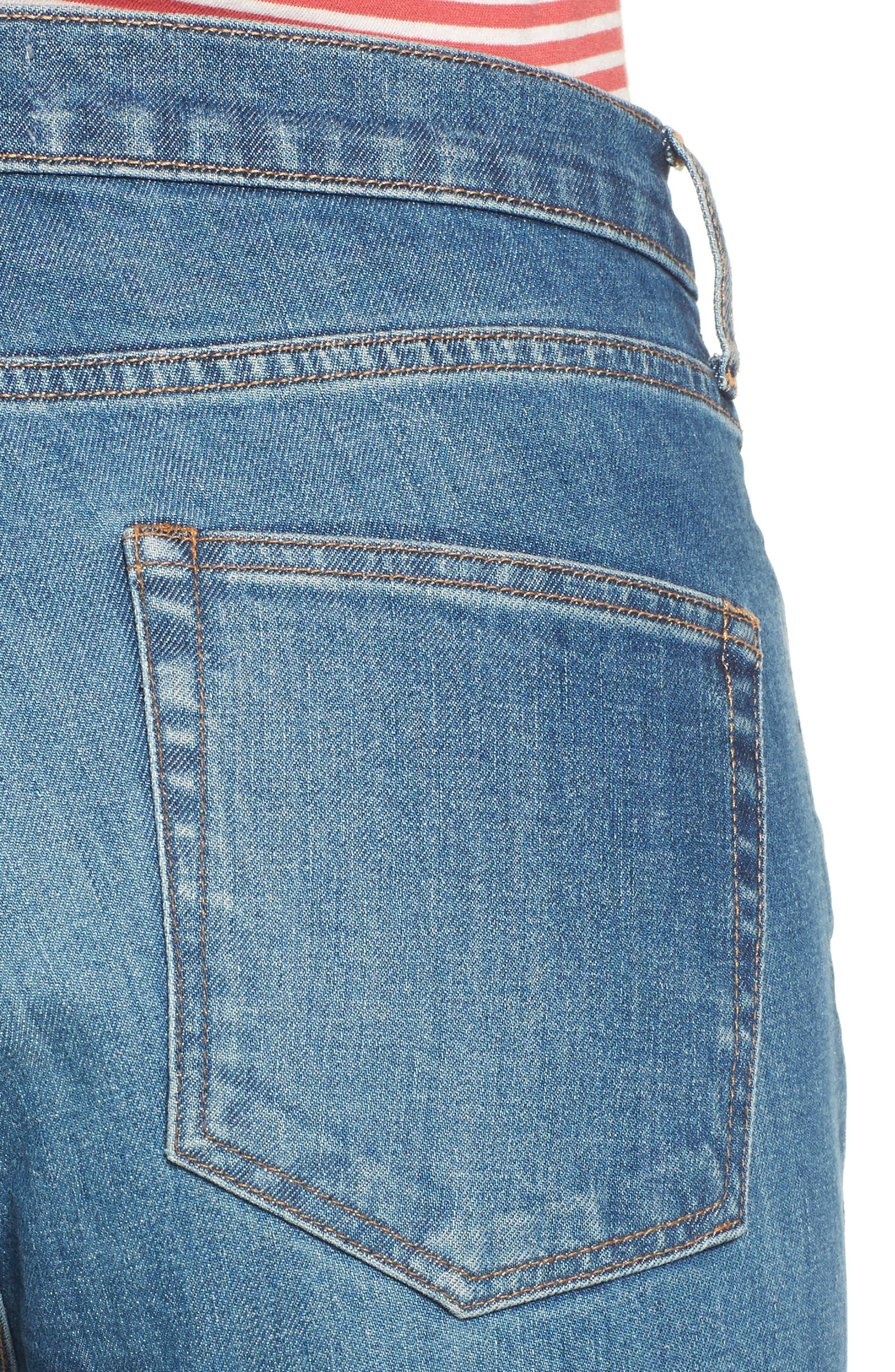 Alternate Image 4  - Everlane The High Rise Skinny Ankle Jeans