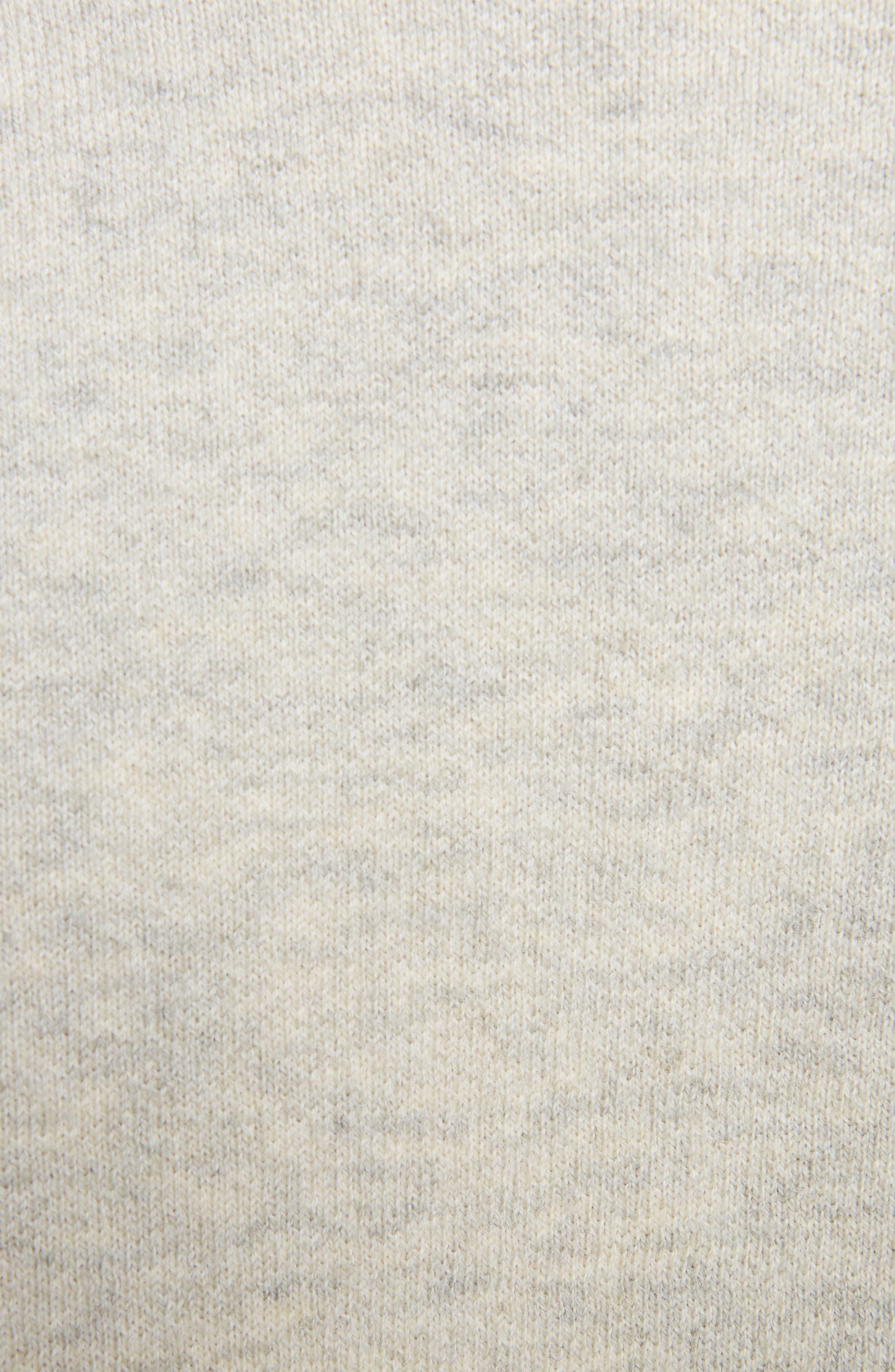Isabel Marant Étoile Kao Sweatshirt,                             Alternate thumbnail 5, color,                             Light Grey