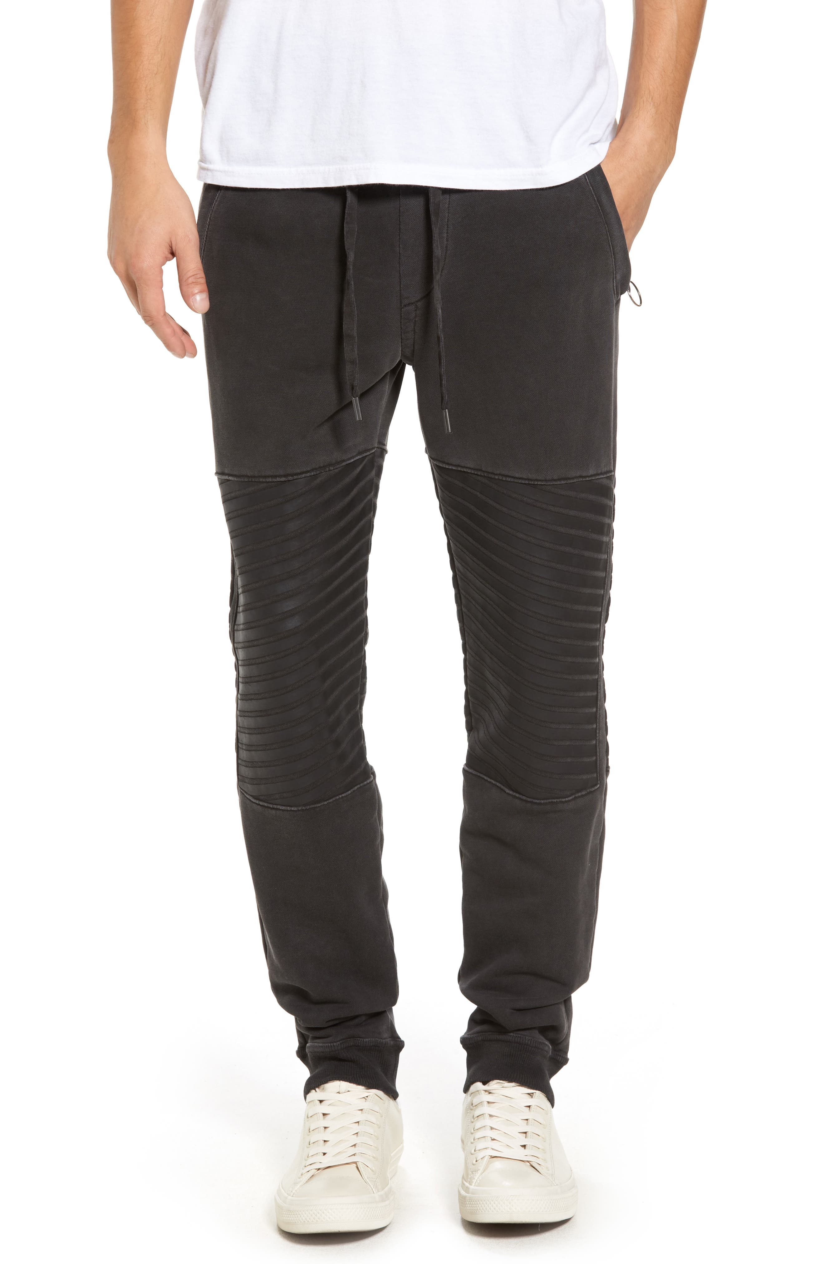 Alternate Image 1 Selected - True Religion Brand Jeans Moto Sweatpants
