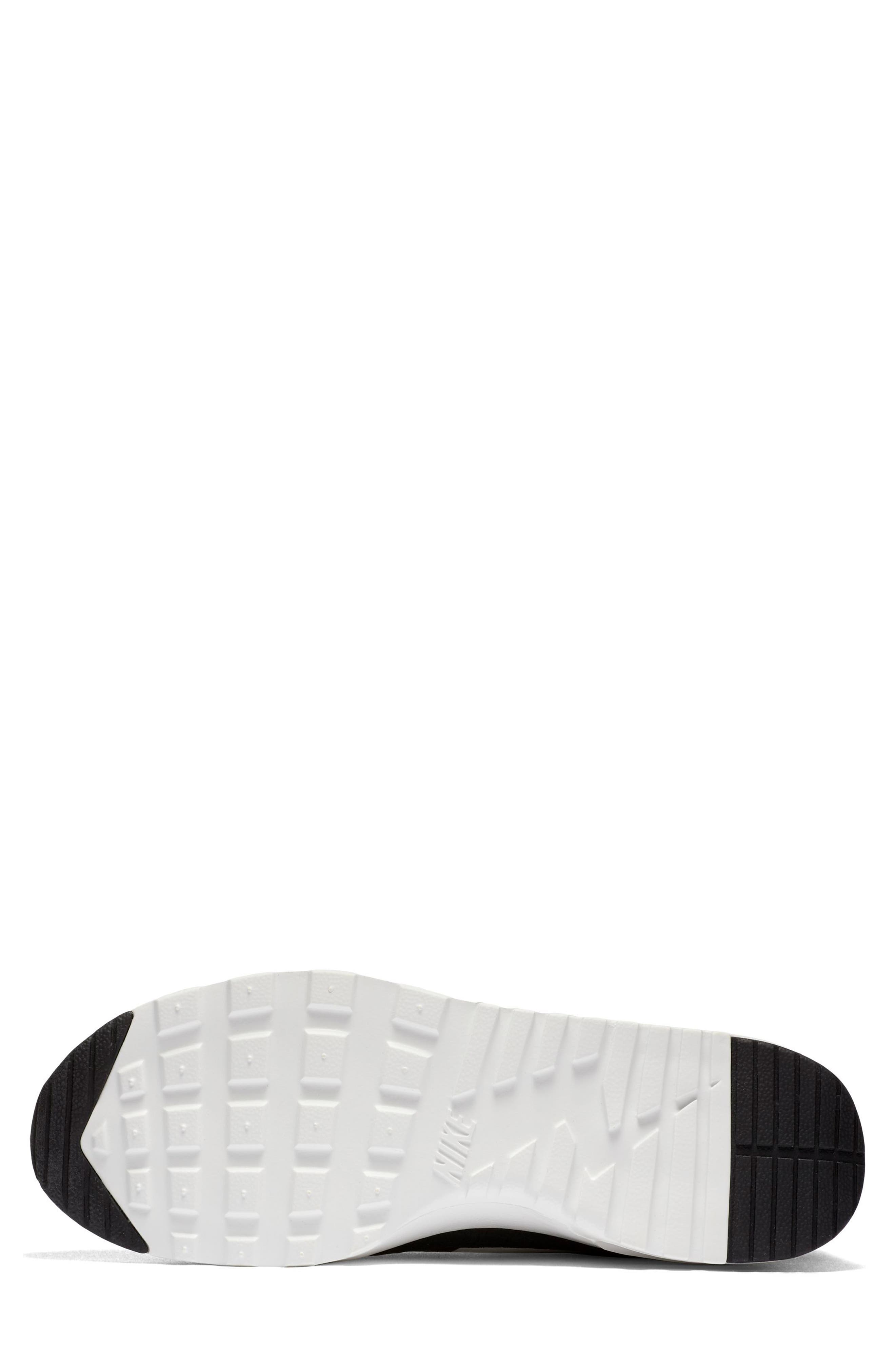 Air Max Thea Sneaker,                             Alternate thumbnail 6, color,                             Black/ Summit White