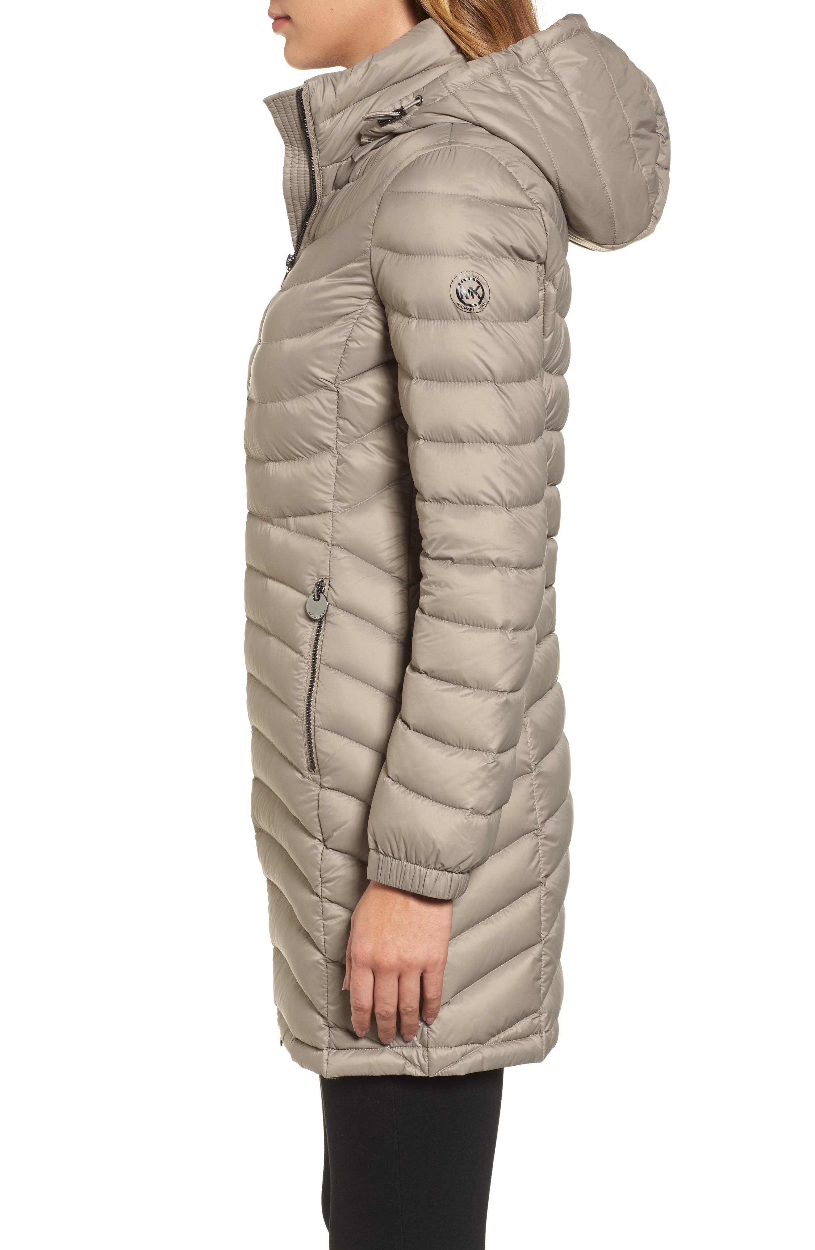 Alternate Image 3  - MICHAEL Michael Kors Hooded Down Coat (Regular & Petite)