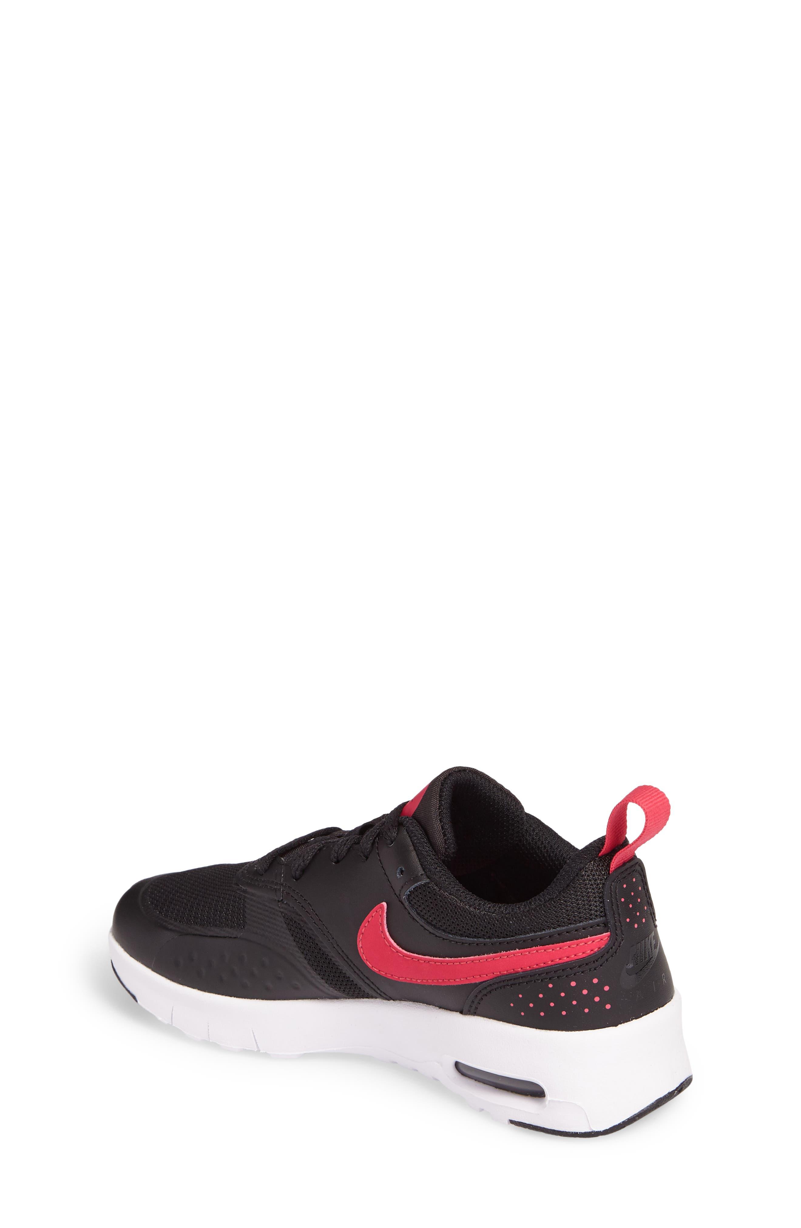 Air Max Vision Sneaker,                             Alternate thumbnail 2, color,                             Black/ Pink