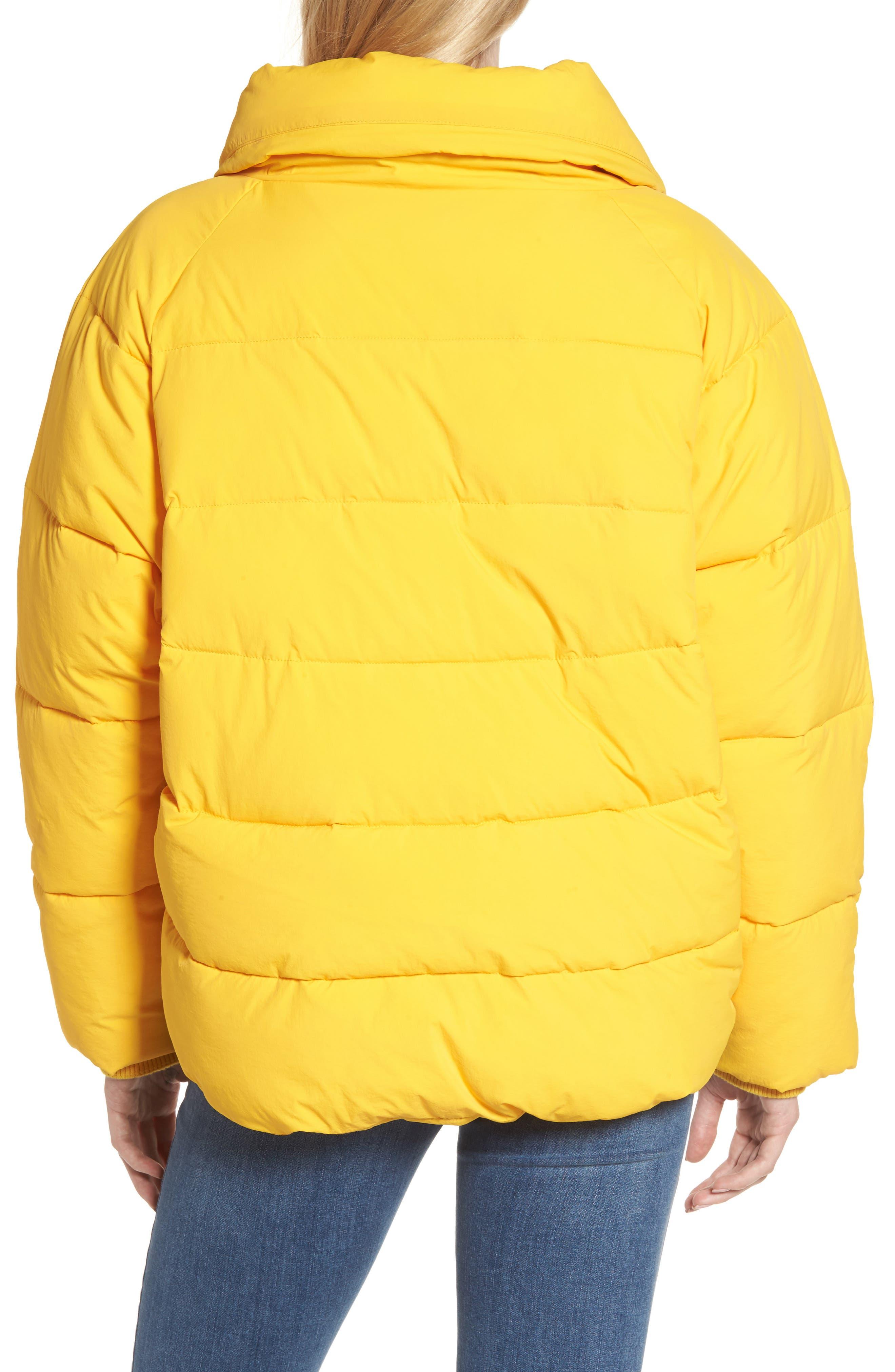 Alternate Image 2  - Topshop Puffer Coat