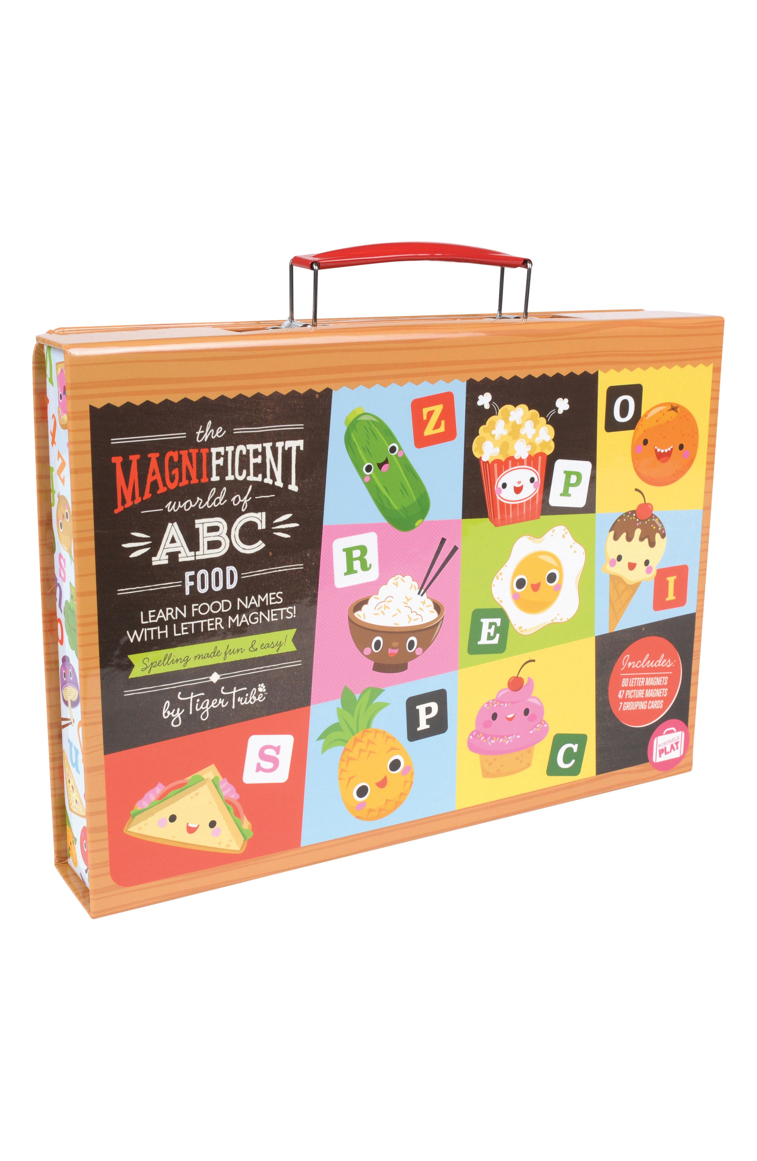 Schylling World of ABC Food Learning Set
