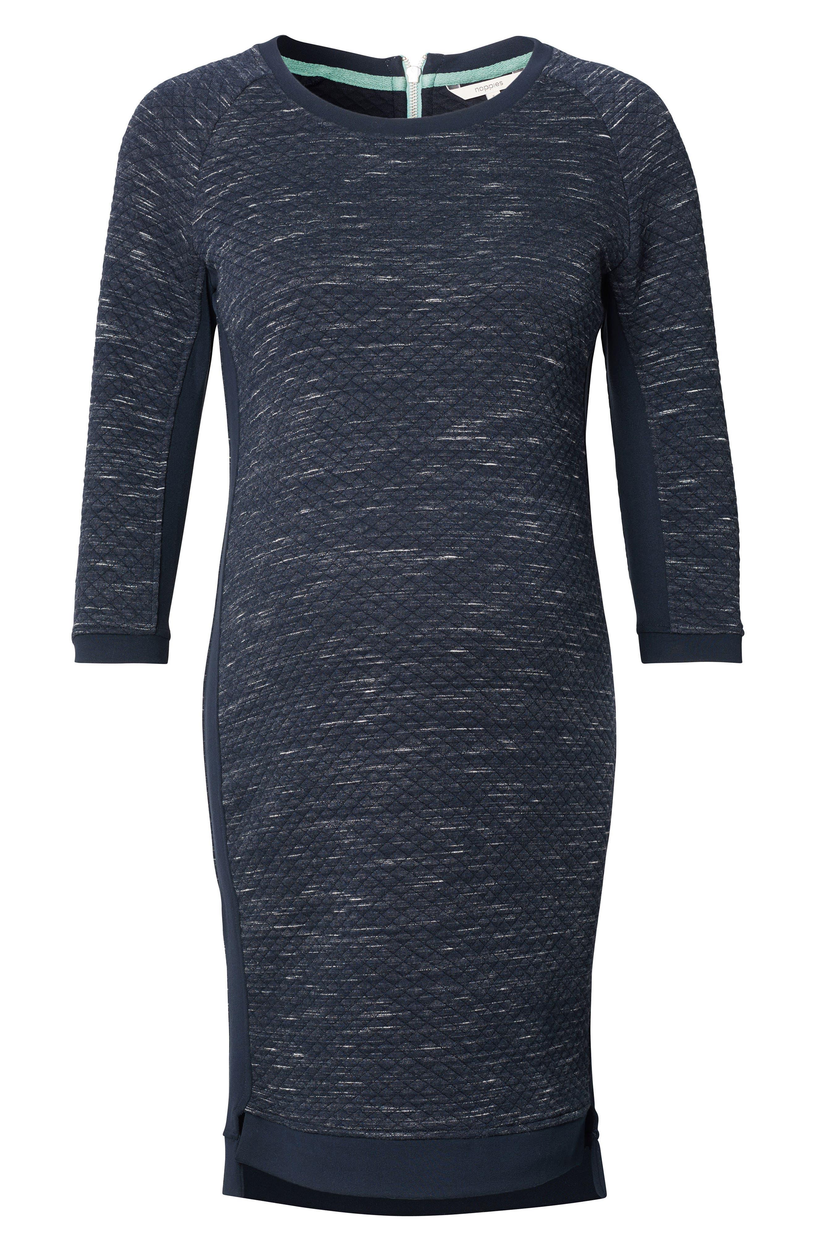 Gemma Maternity Sweater Dress,                         Main,                         color, Dark Blue