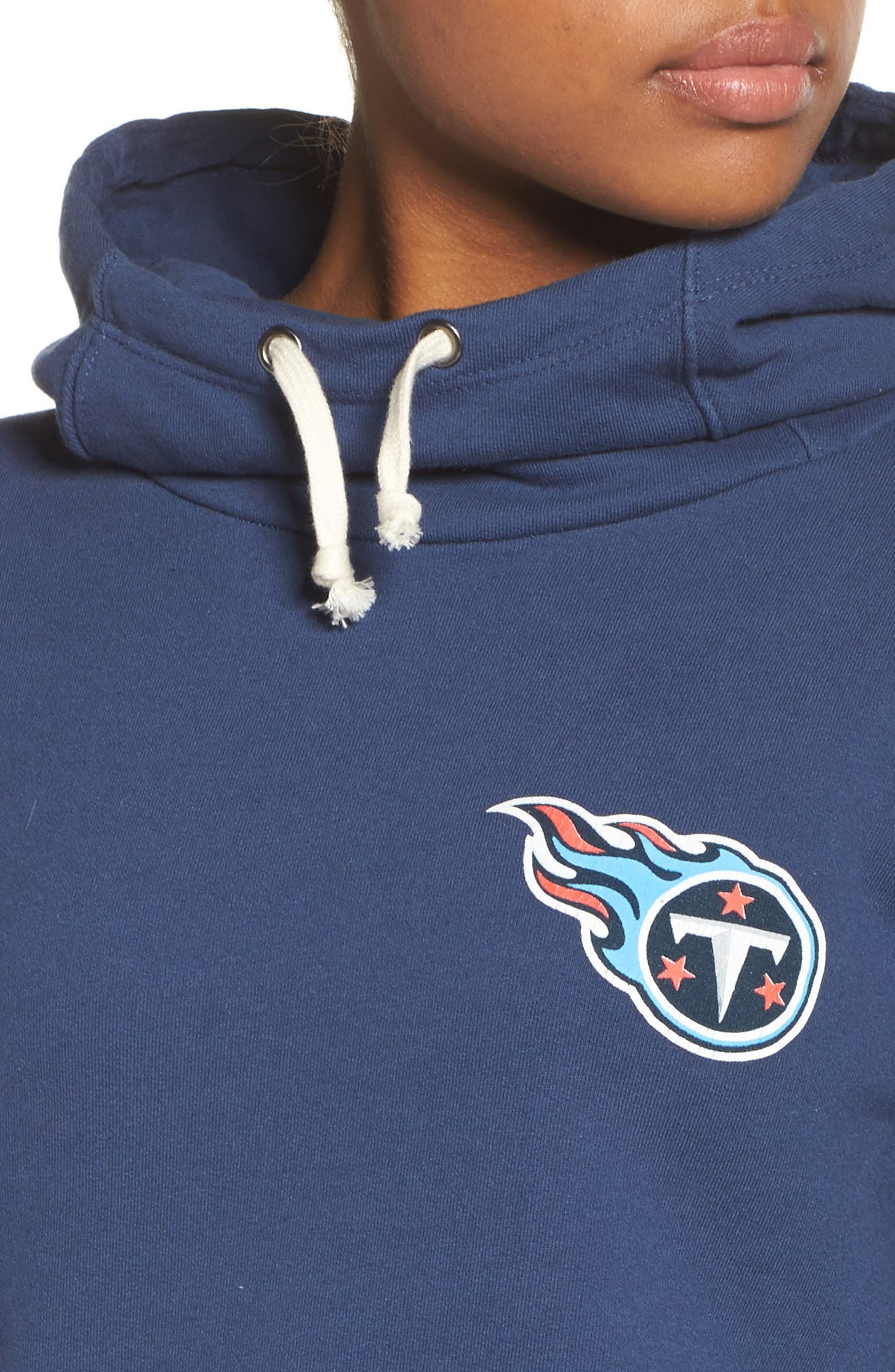 NFL Tennessee Titans Sunday Hoodie,                             Alternate thumbnail 5, color,                             True Navy