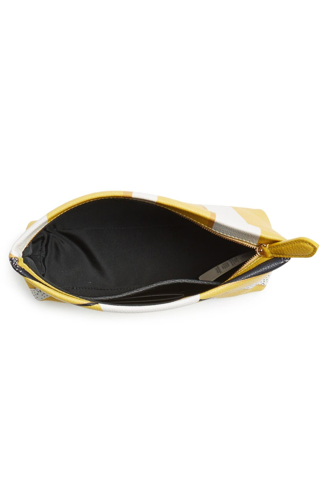 Alternate Image 4  - Burberry Leather Clutch