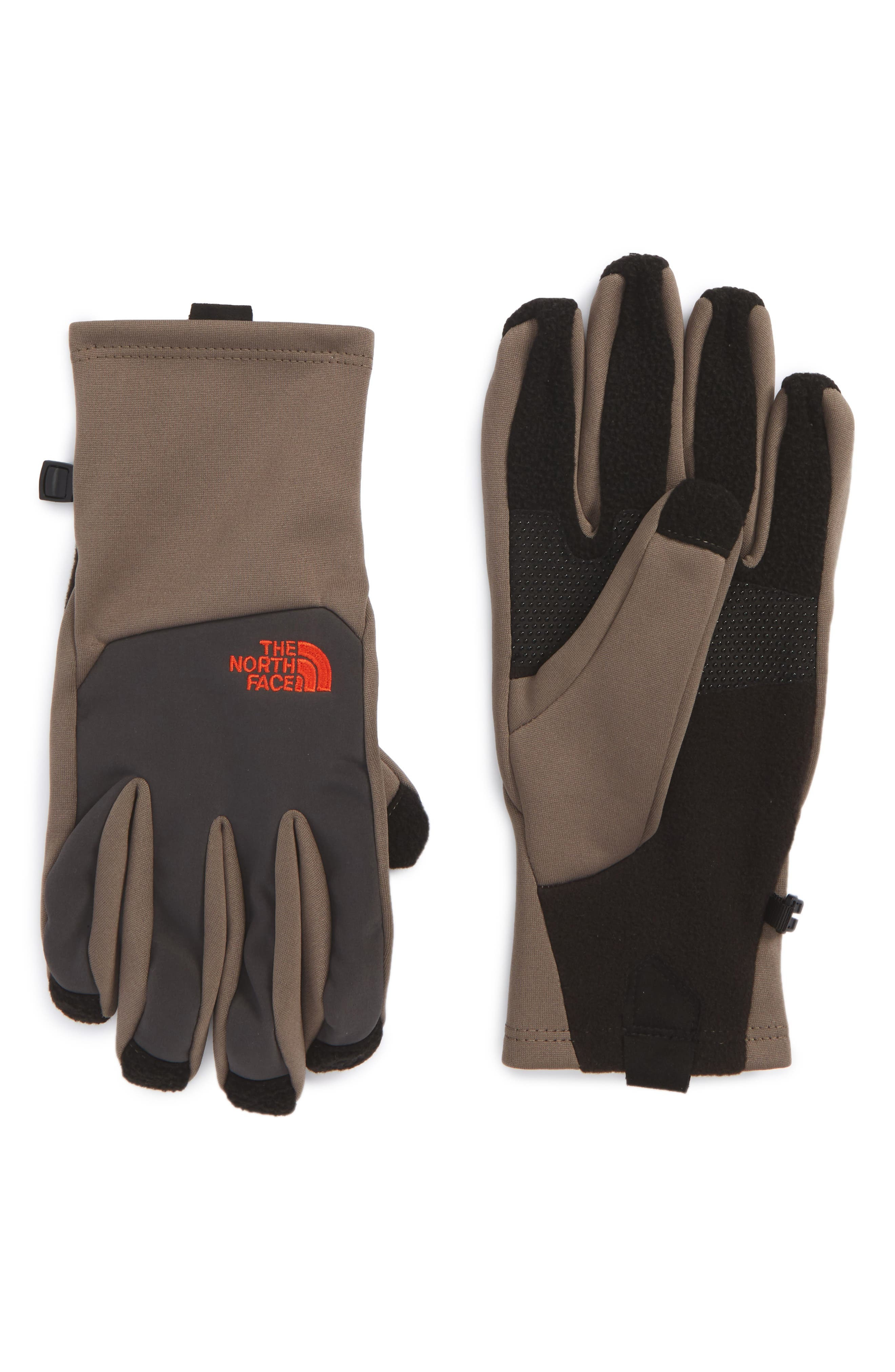 'Canyonwall' Etip Gloves,                             Main thumbnail 1, color,                             Falcon Brown