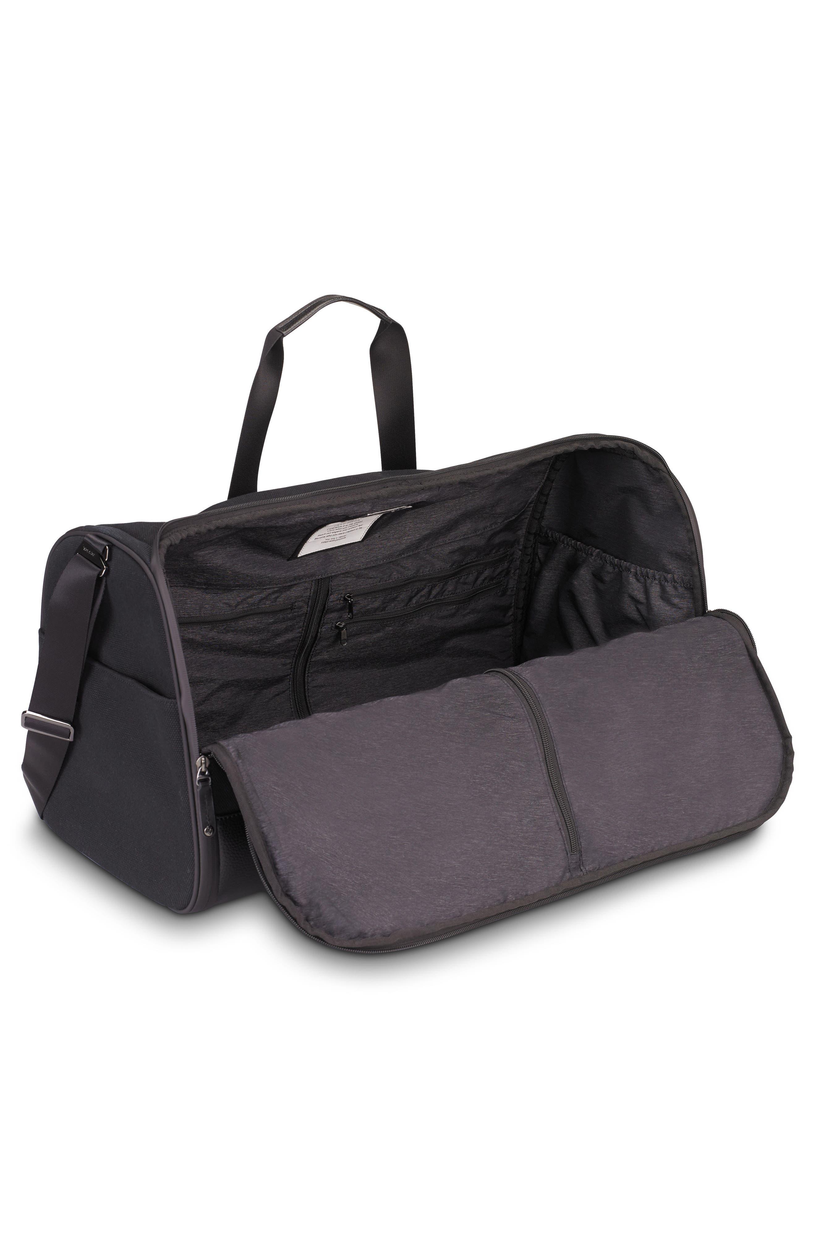 Canvas Garment Duffel Bag,                             Alternate thumbnail 2, color,                             Black
