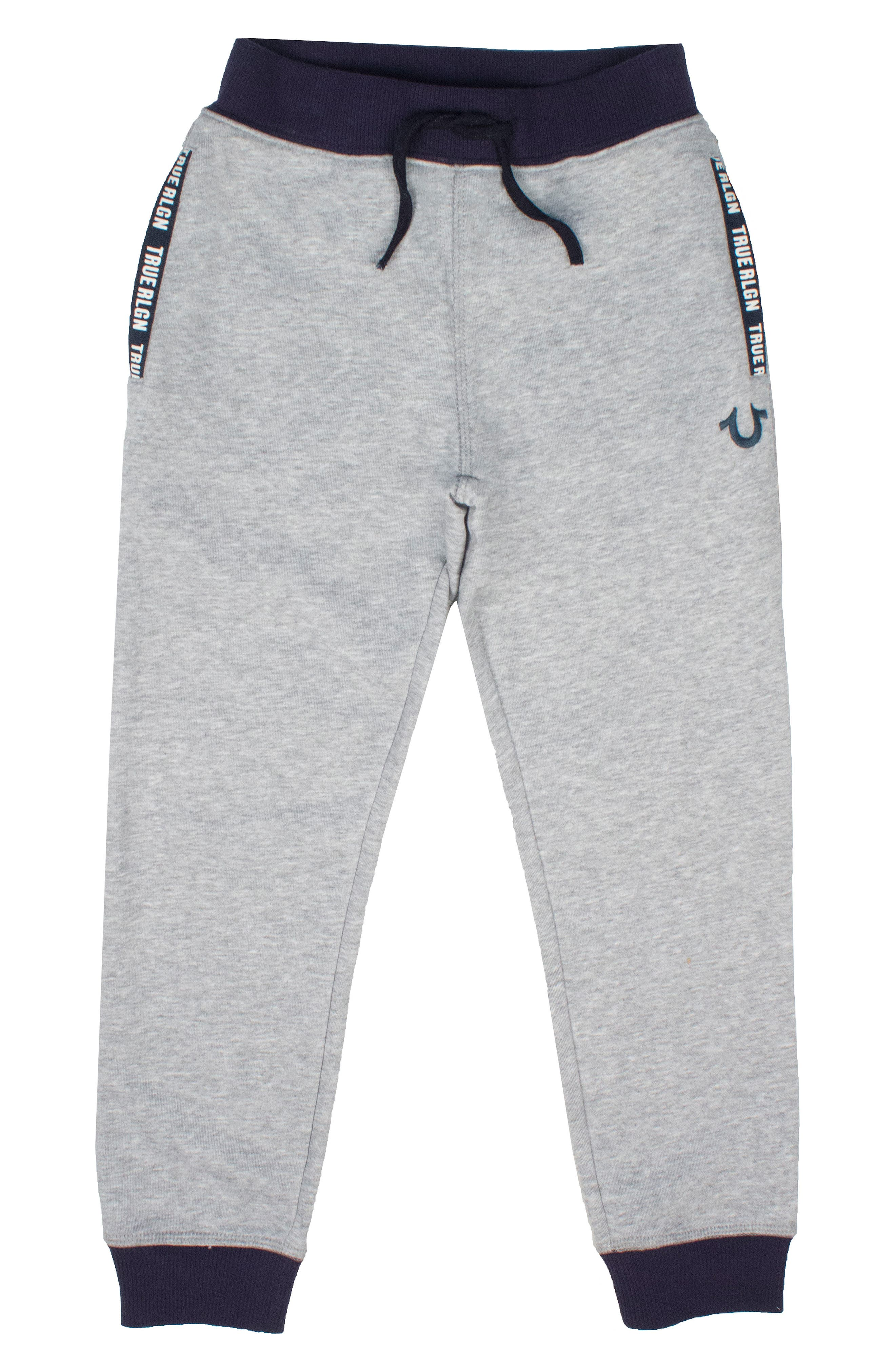 Tape Sweatpants,                             Main thumbnail 1, color,                             Heather Grey