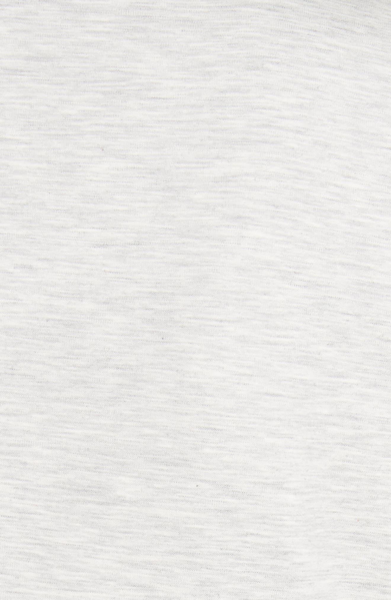 Rodier Jersey Blazer,                             Alternate thumbnail 6, color,                             Pearl Grey