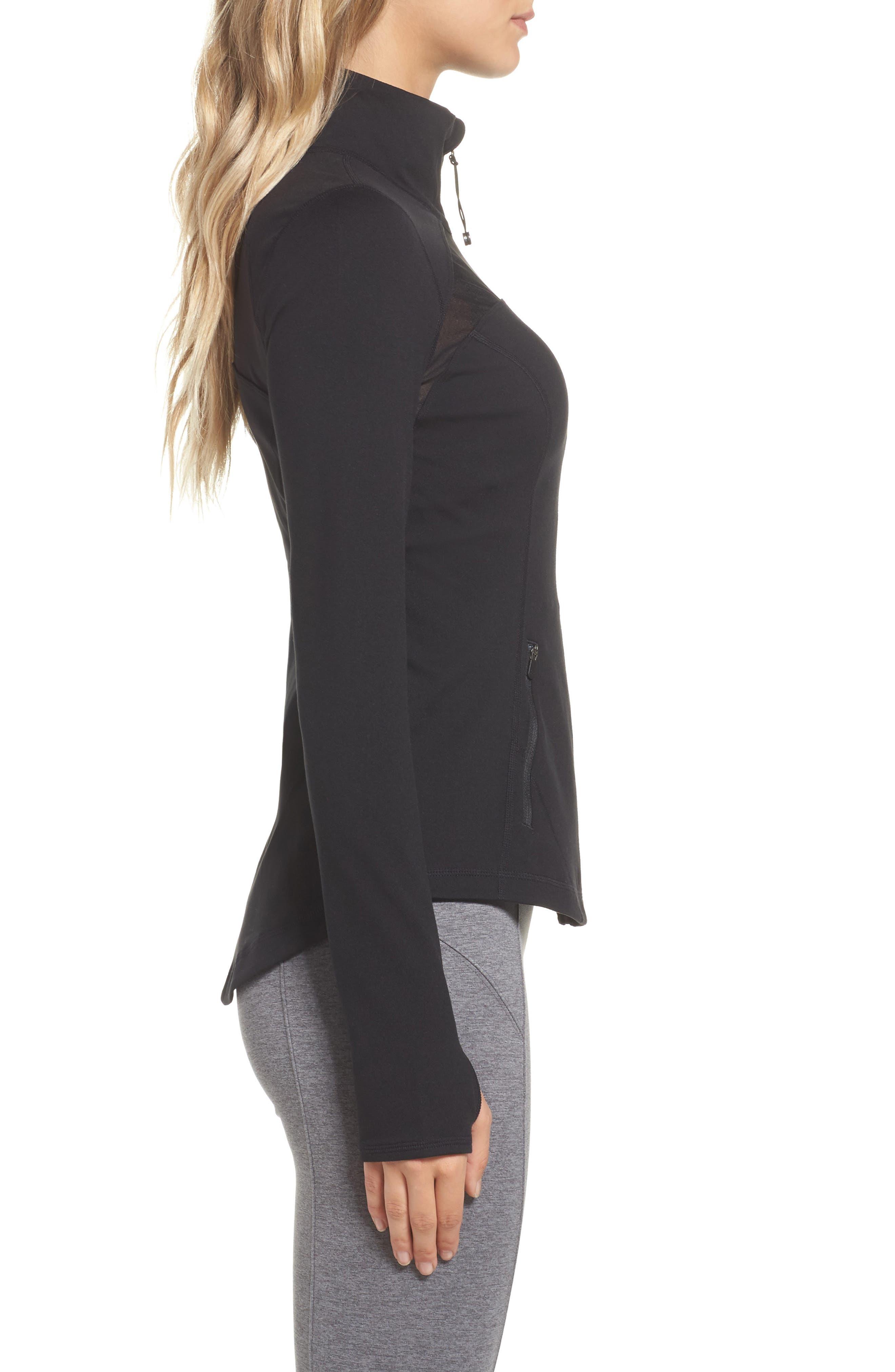Alternate Image 3  - Zella Defy Zip Jacket