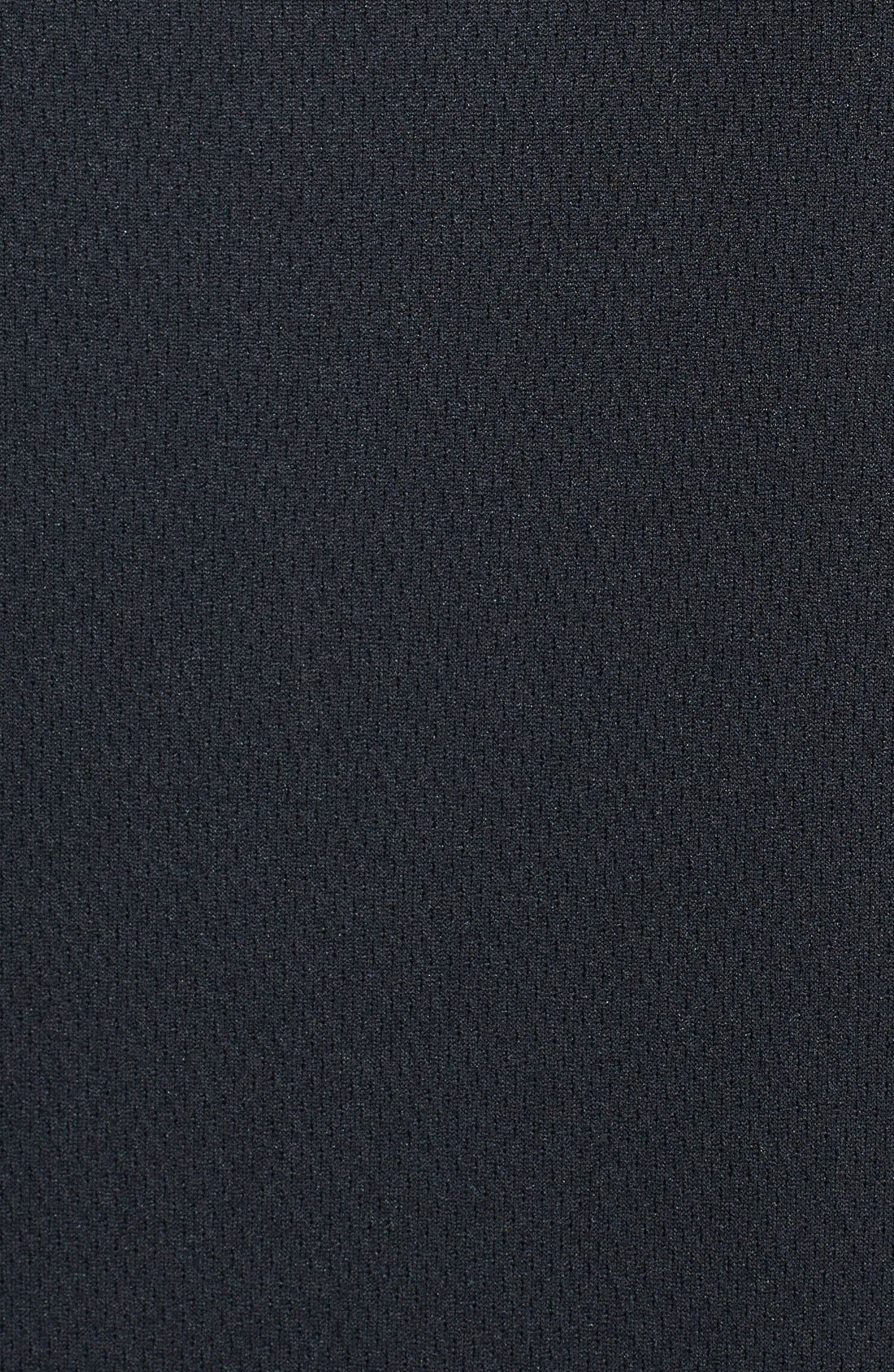 Arizona Cardinals - Edge DryTec Moisture Wicking Half Zip Pullover,                             Alternate thumbnail 3, color,                             Black