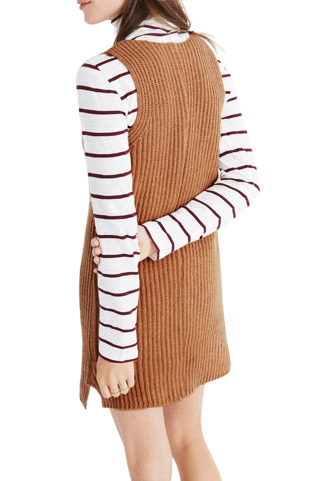 Alternate Image 3  - Madewell Tunic Sweater Dress