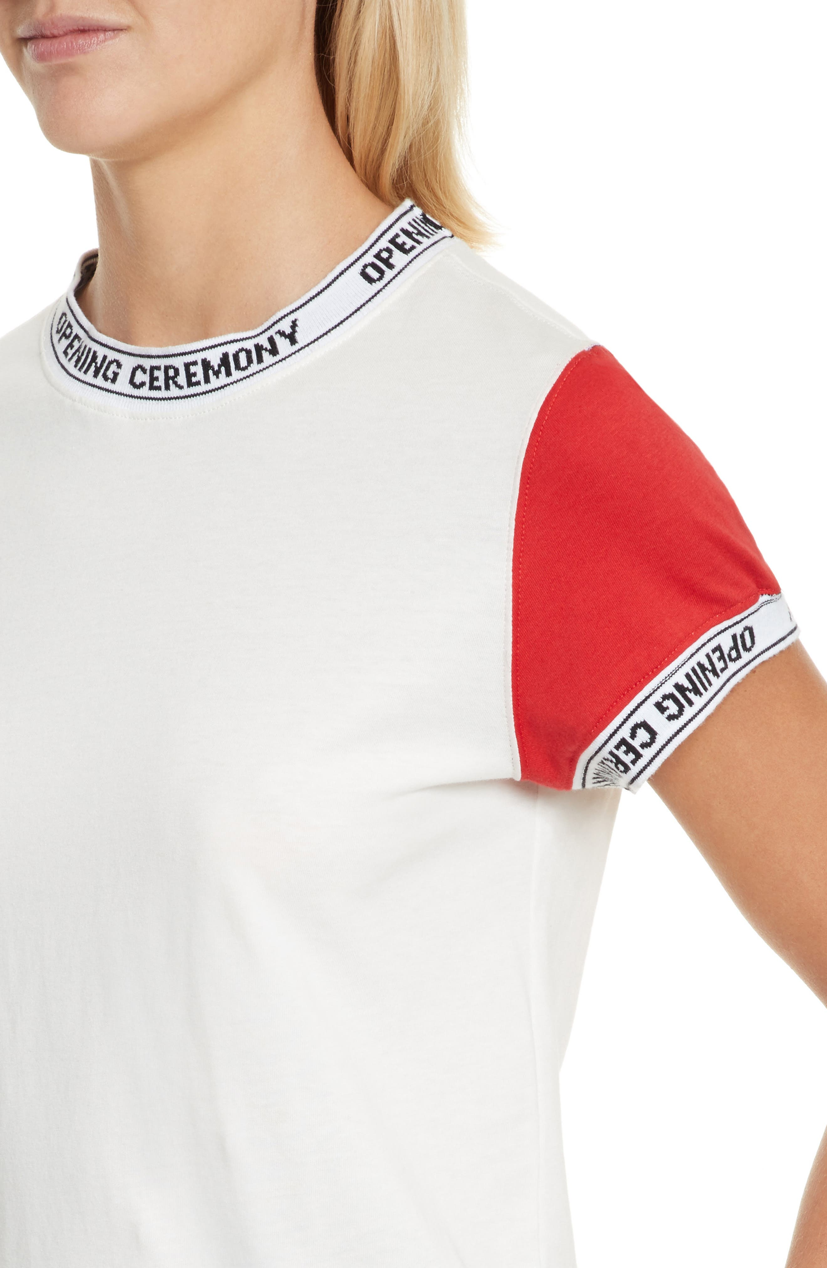 Alternate Image 4  - Opening Ceremony Banded Tee (Limited Edition)