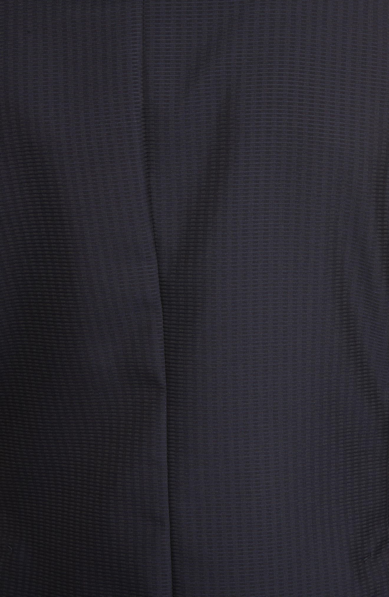 Alternate Image 5  - Z Zegna Classic Fit Stripe Cotton Blend Sport Coat