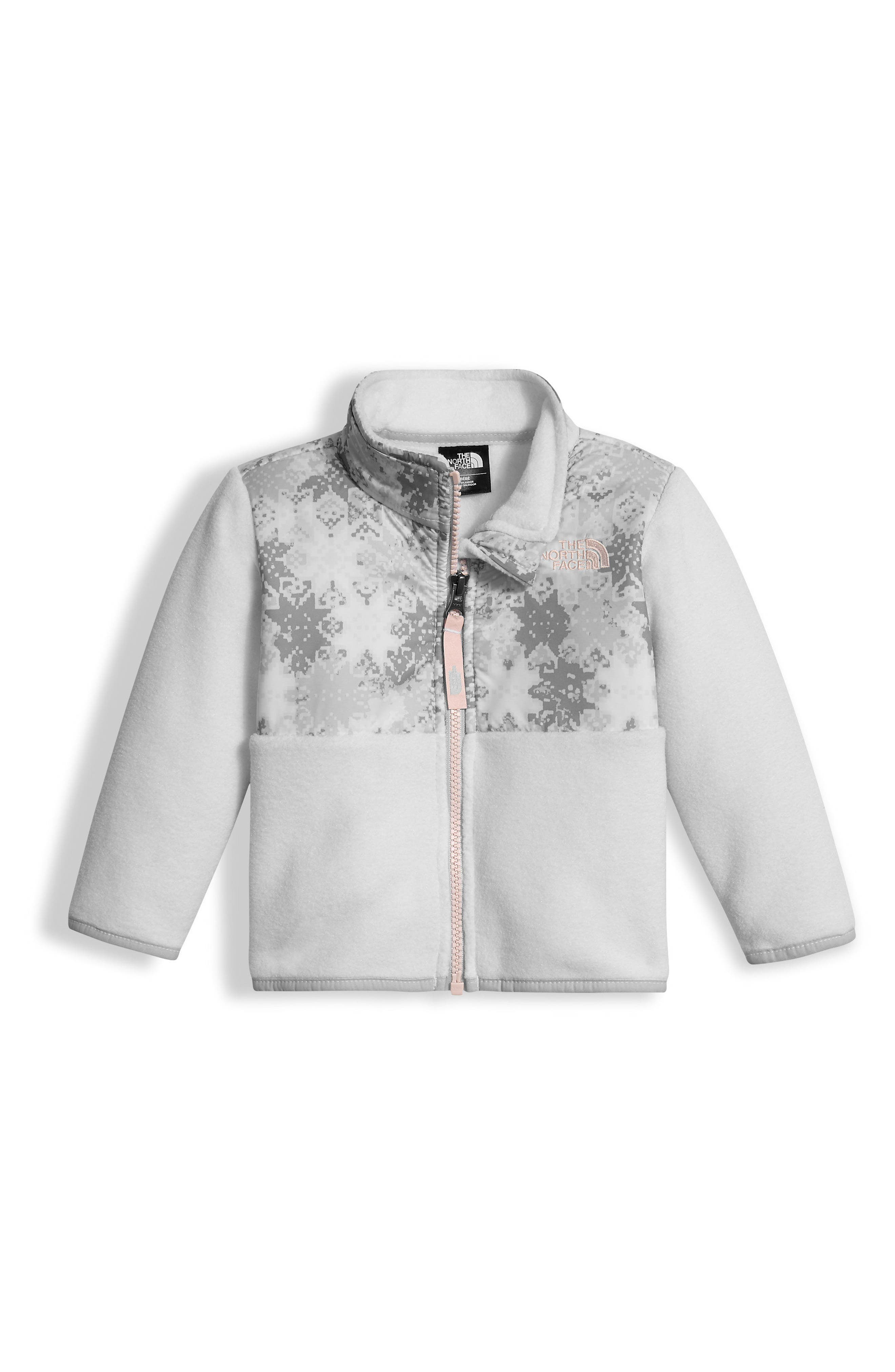 'Denali' Recycled Fleece Jacket,                         Main,                         color, Snowflake/ Fair Isle Print