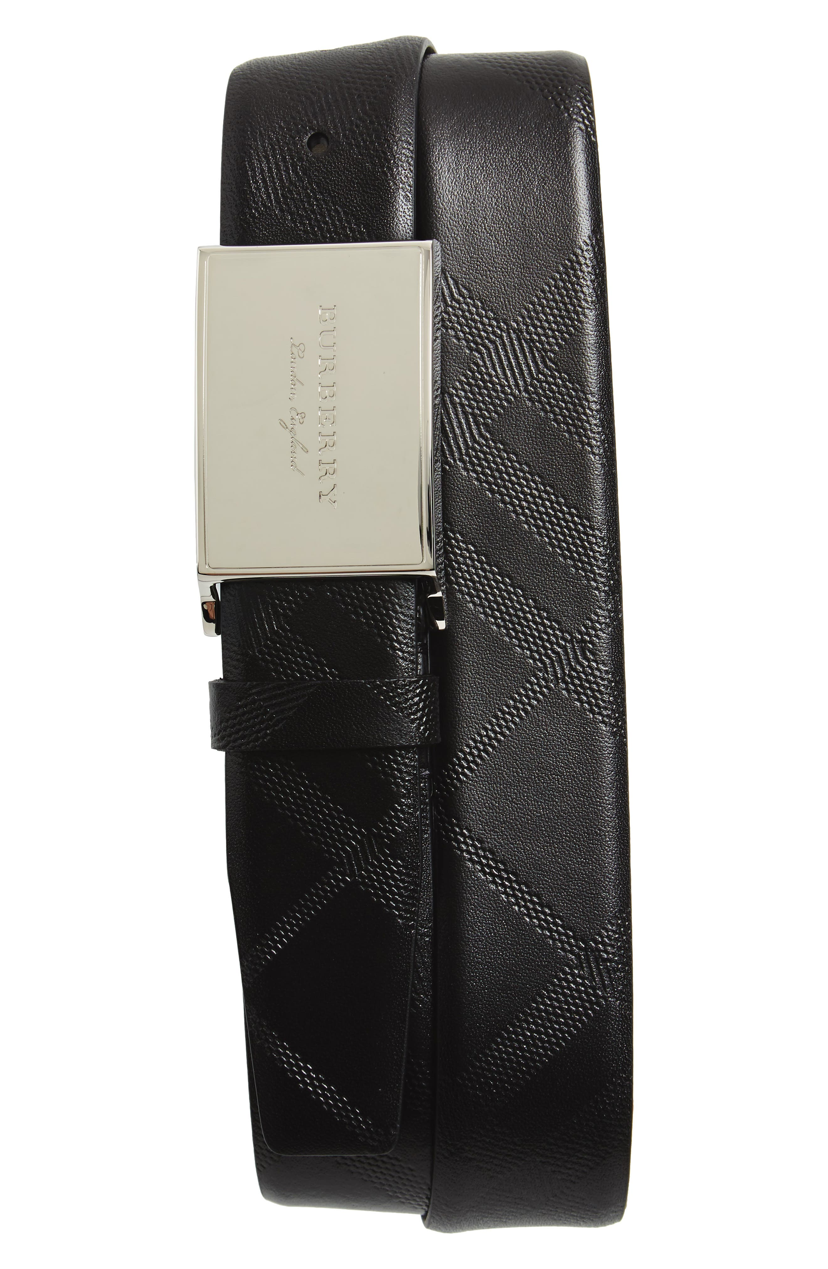 Burberry George Leather Belt