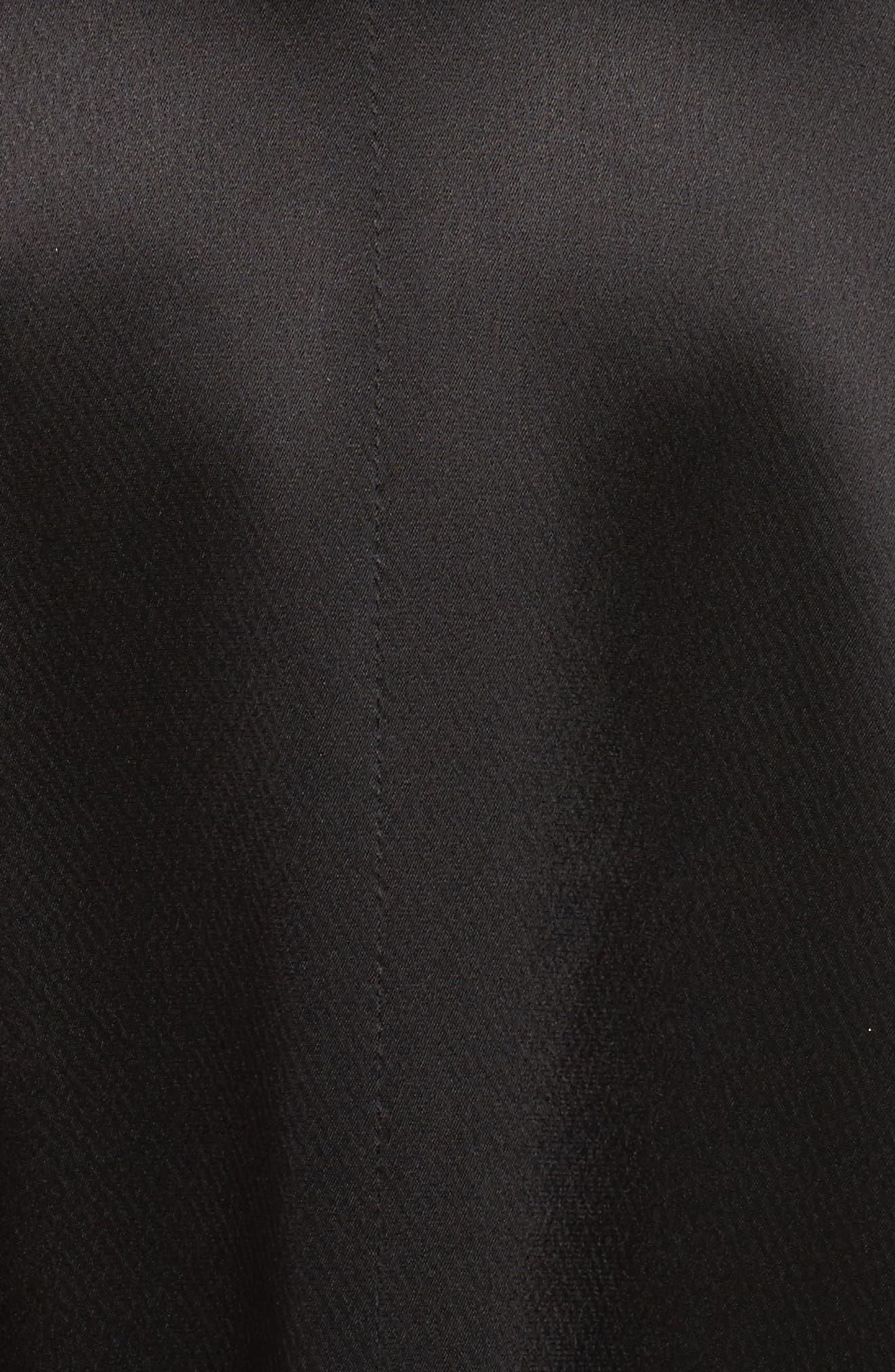 Alternate Image 5  - Jill Jill Stuart Satin Back Crepe Gown