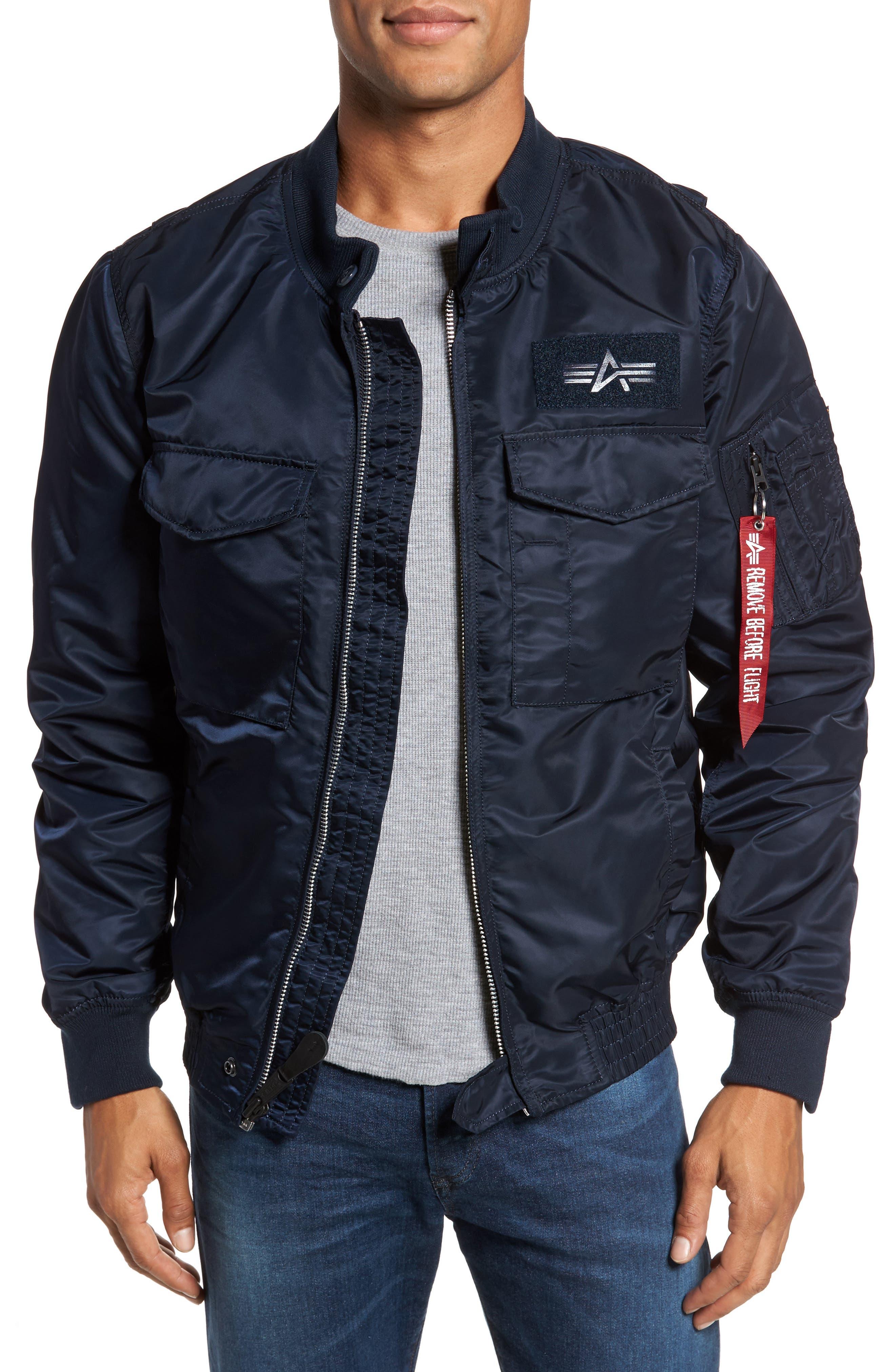 Weps Mod Jacket,                         Main,                         color, Replica Blue