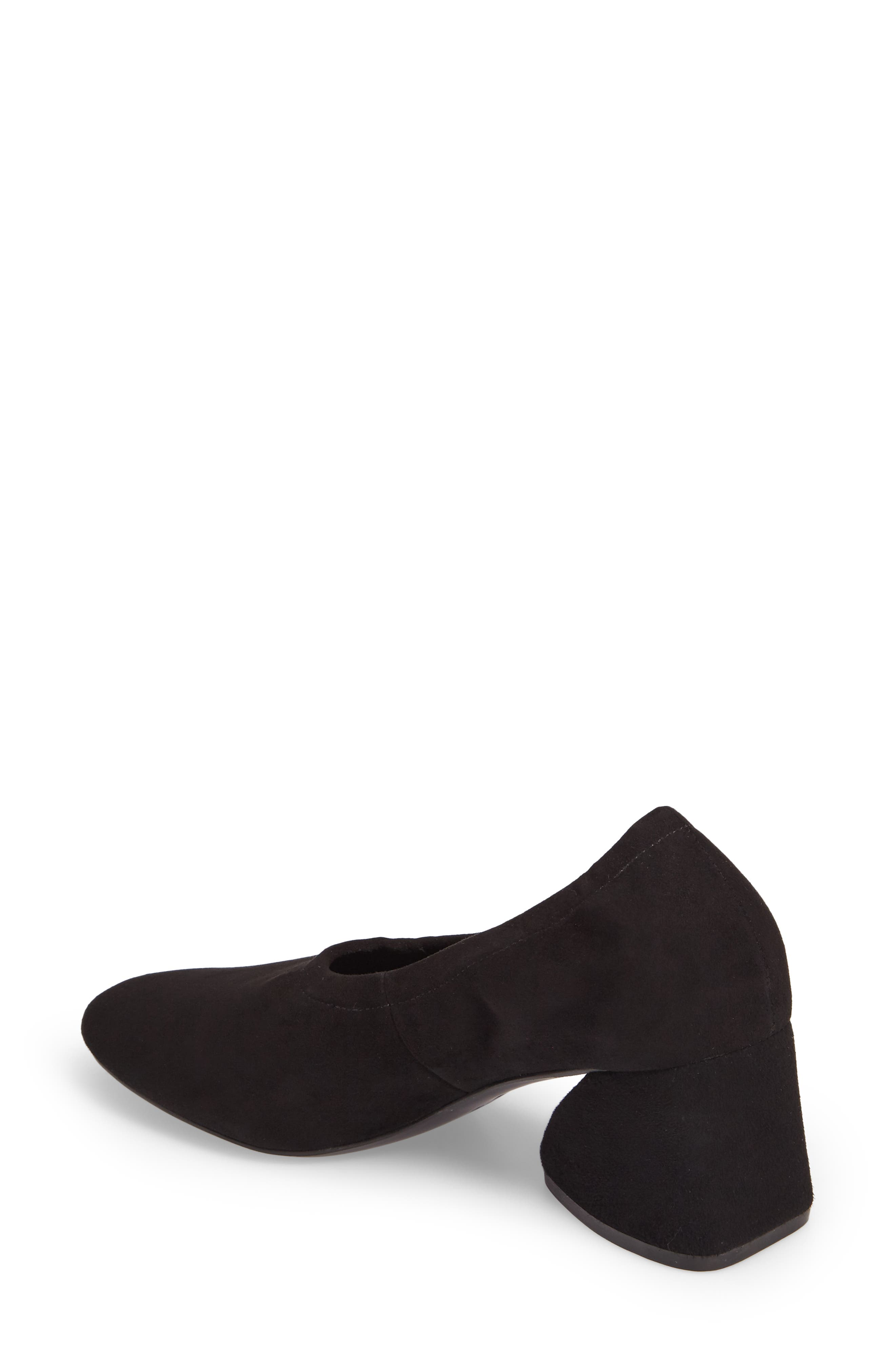 Emilia Pump,                             Alternate thumbnail 2, color,                             Black Suede