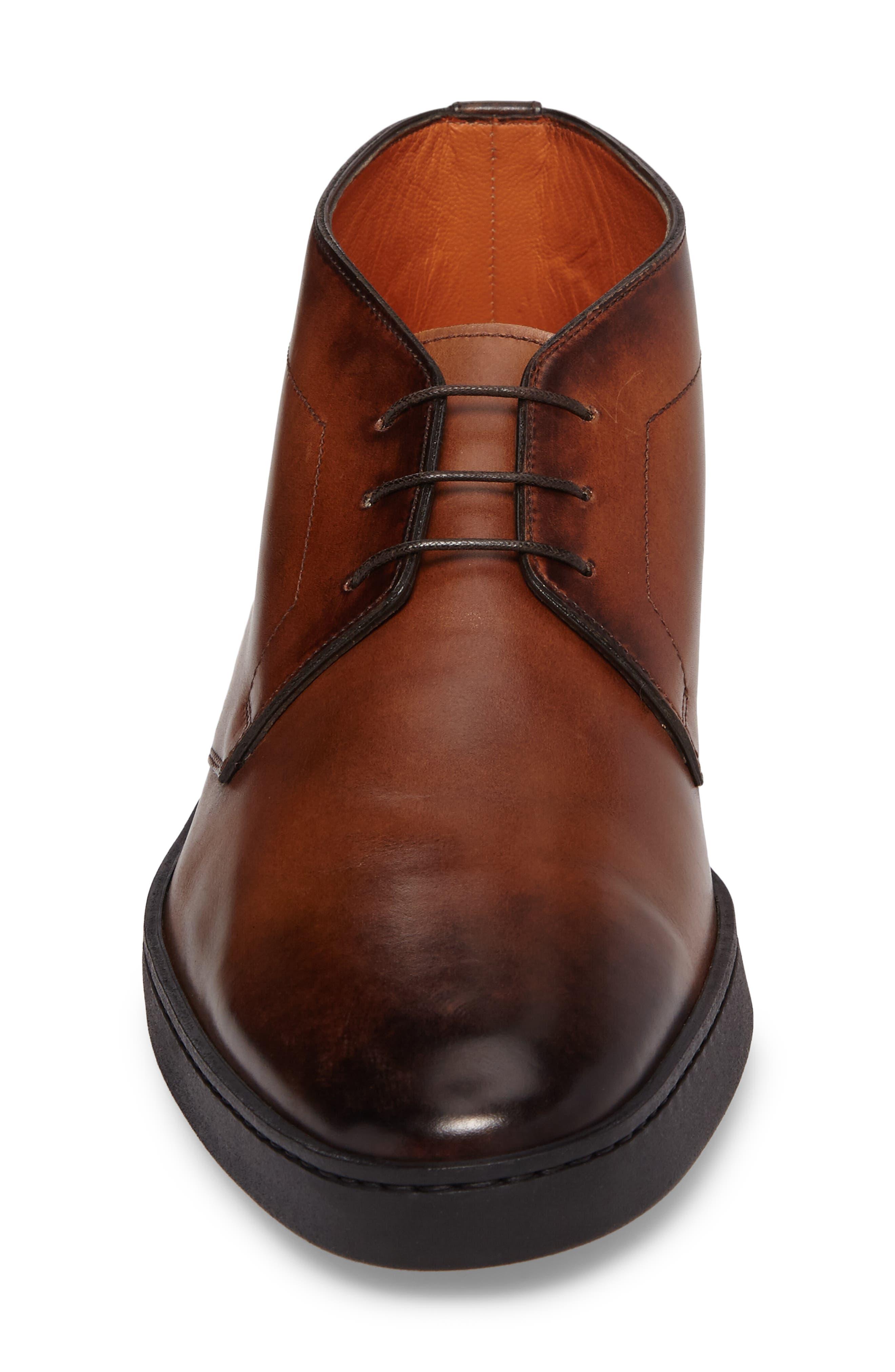 Eddy Chukka Sneaker Boot,                             Alternate thumbnail 3, color,                             Brown