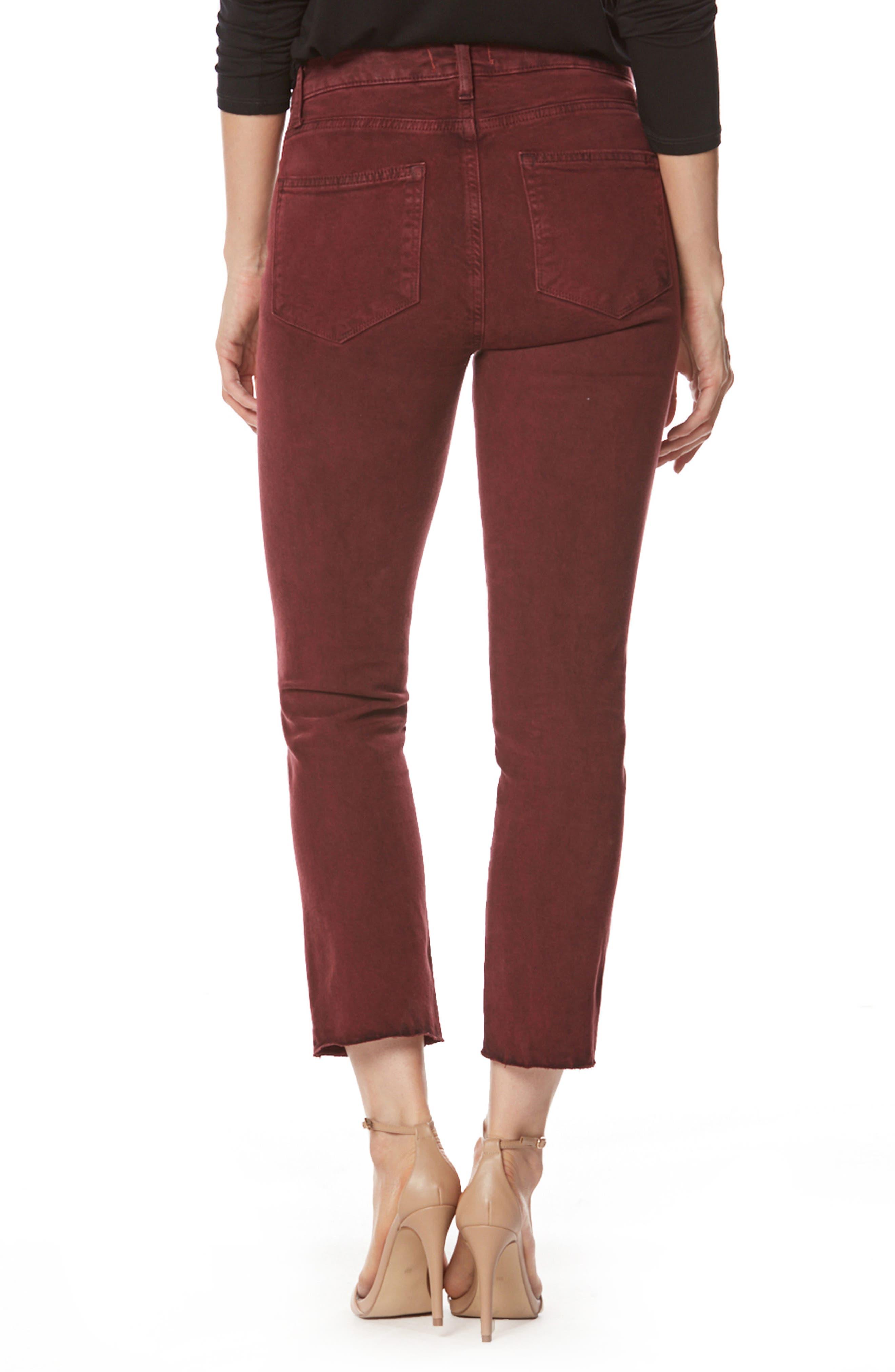 Alternate Image 3  - PAIGE Jacqueline High Waist Crop Straight Leg Jeans