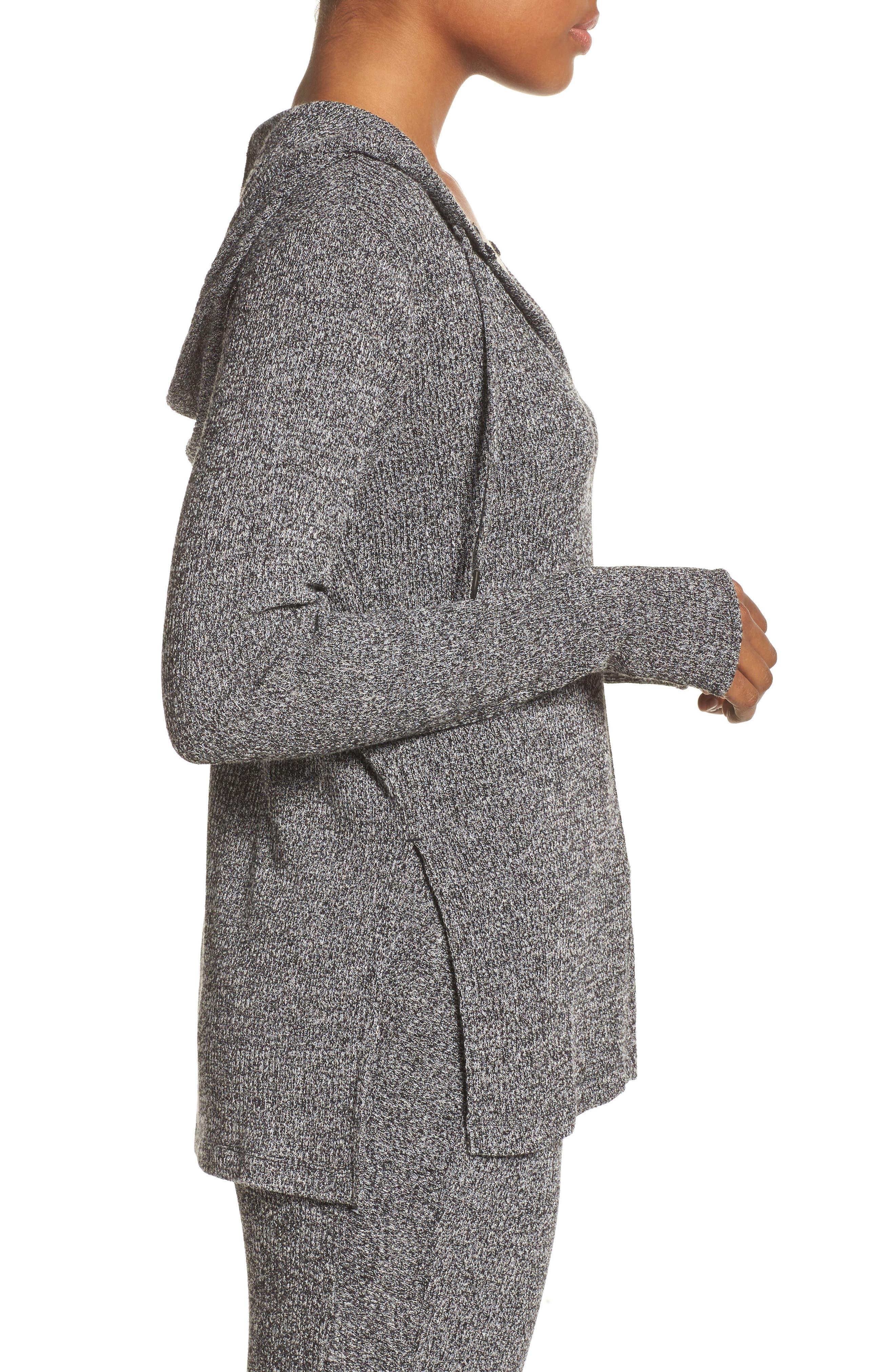 Alternate Image 3  - Zella Mantra Hooded Pullover Top