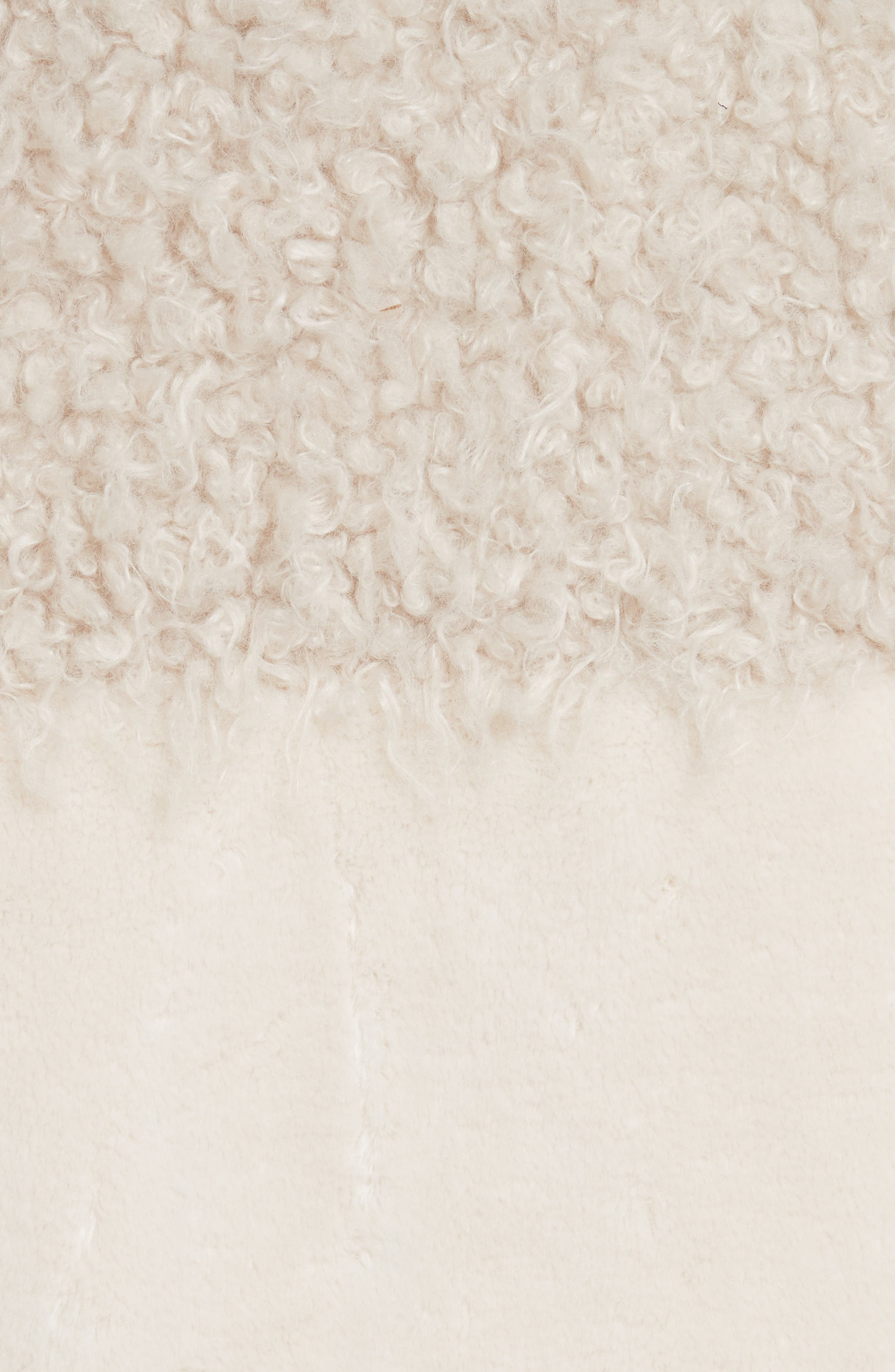 Alternate Image 6  - La Vie Rebecca Taylor Mixed Faux Fur Coat