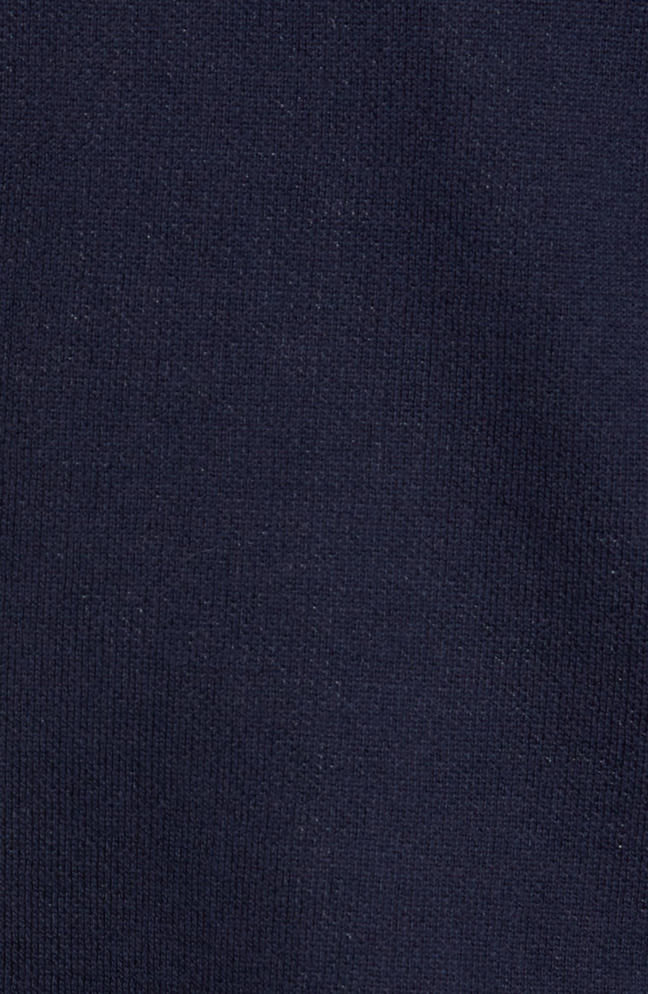 Alternate Image 5  - Nordstrom Men's Shop Pima Cotton Blend Cardigan