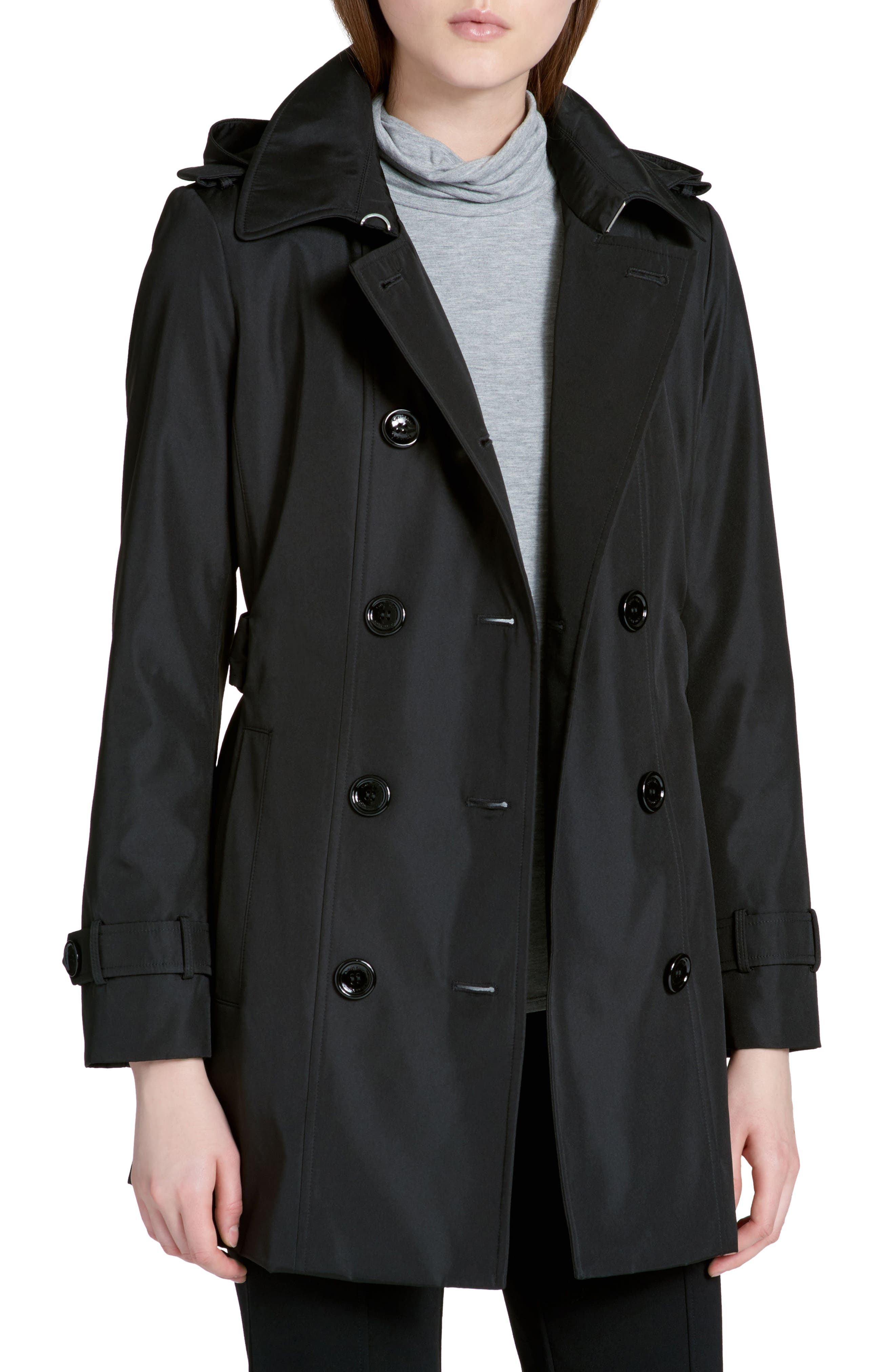 Calvin Klein Double Breasted Trench Coat