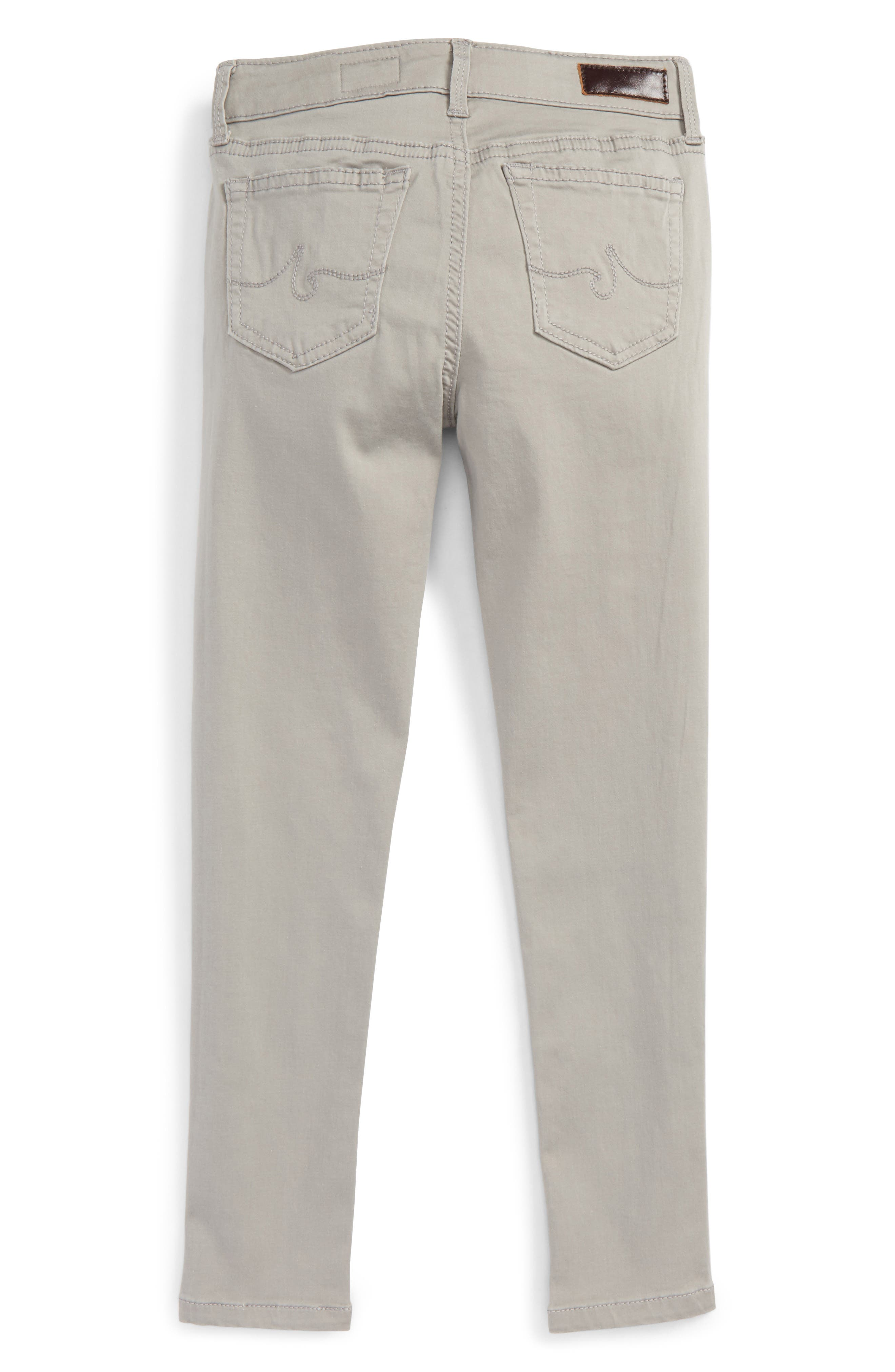 Twiggy Luxe Ankle Skinny Jeans,                             Alternate thumbnail 2, color,                             Grey