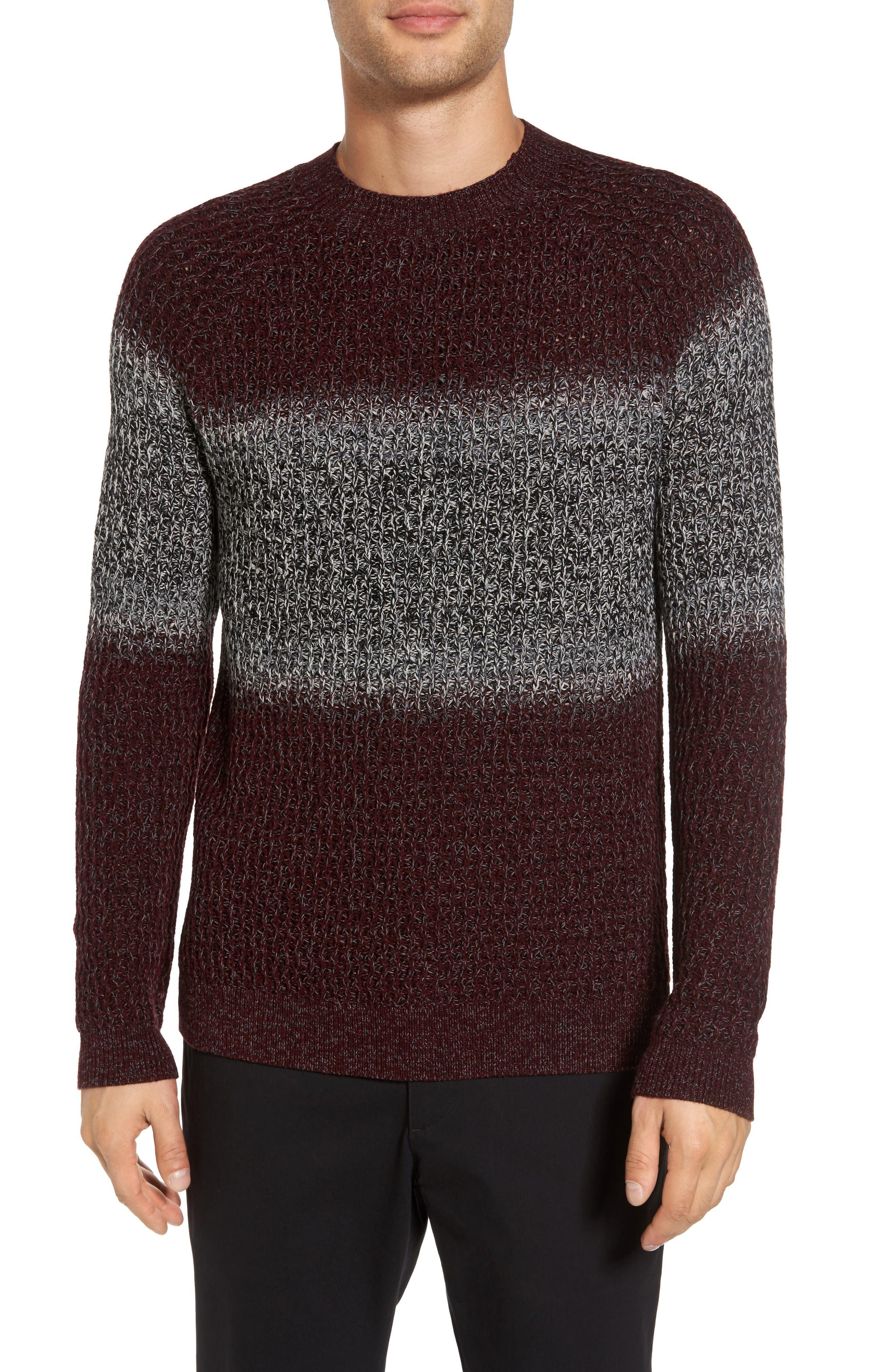 Alcone New Sovereign Wool Sweater,                         Main,                         color, Deep Radish Multi