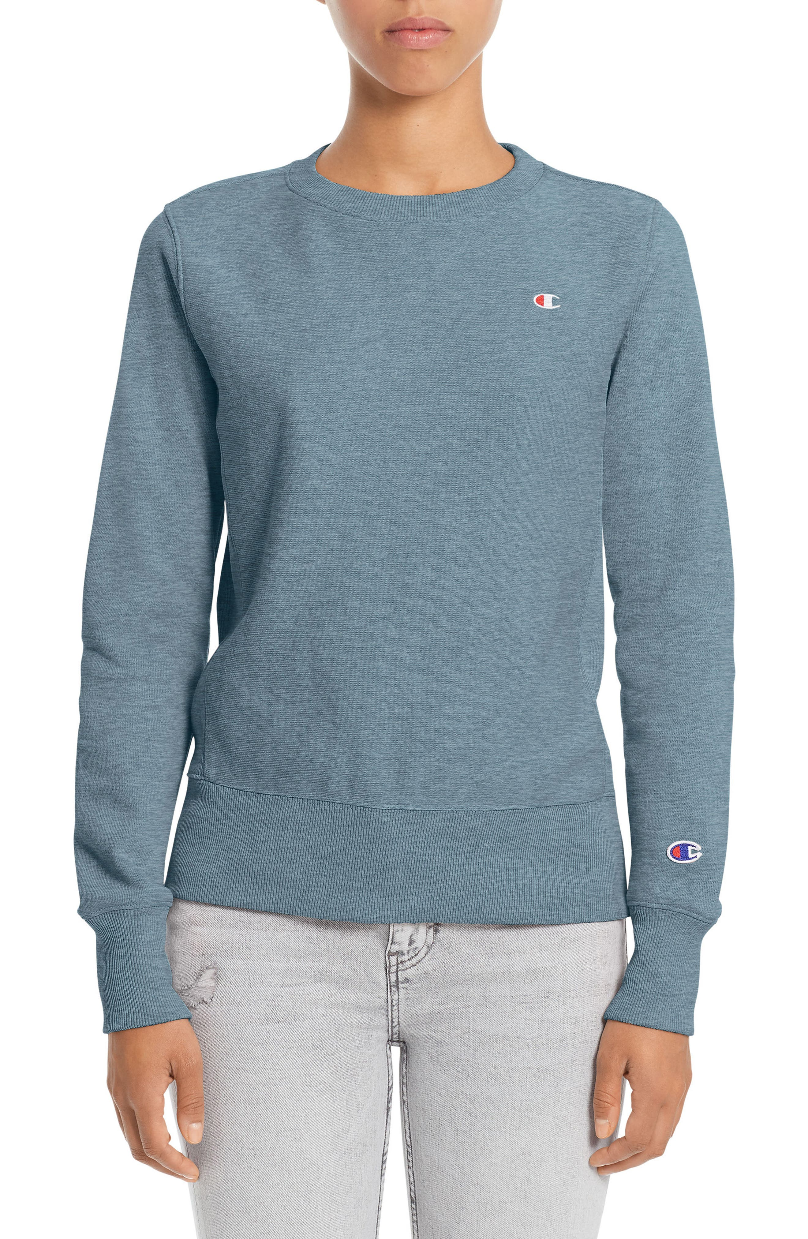 Champion Reverse Weave® French Terry Crewneck Sweatshirt