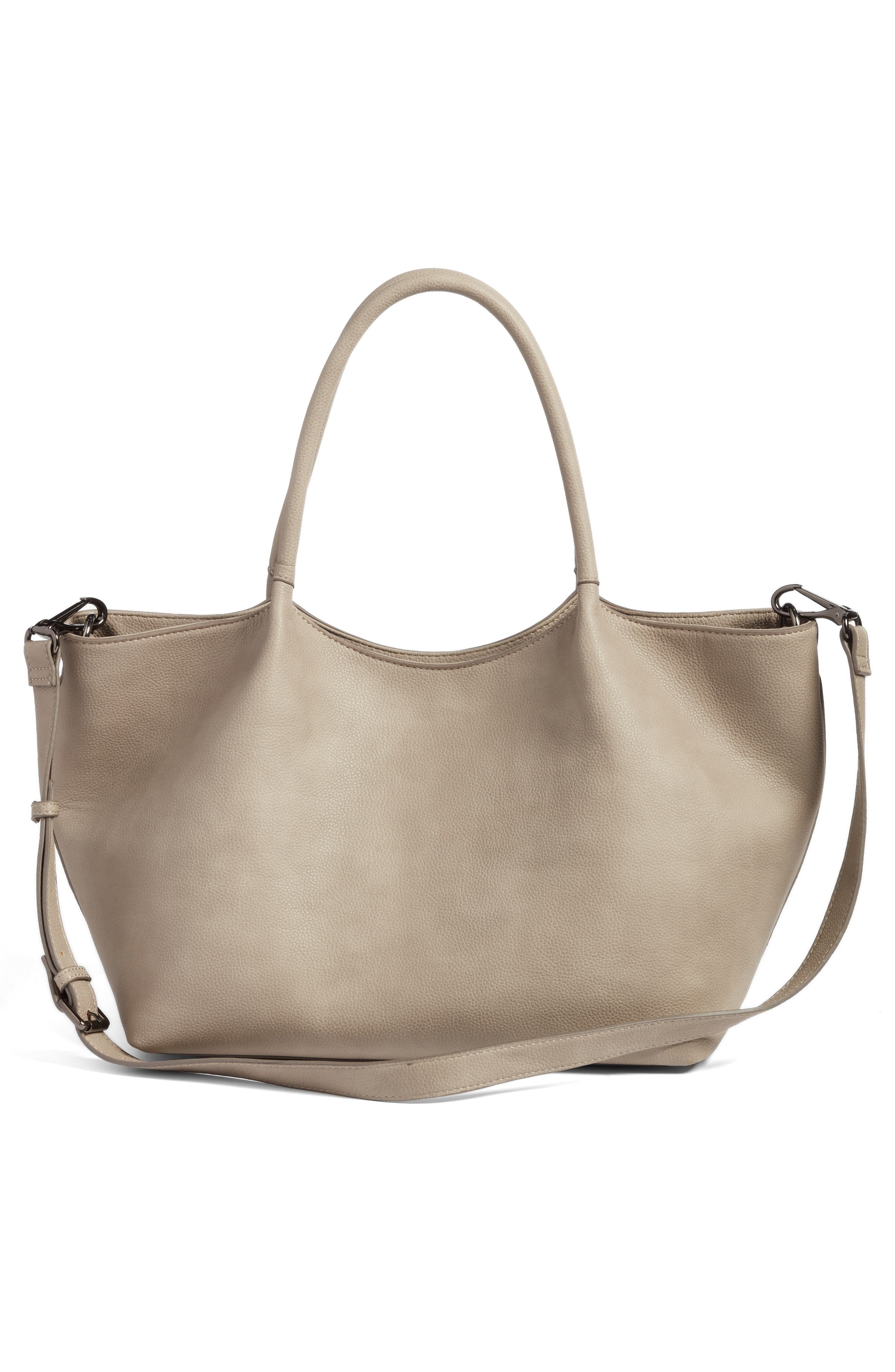 Alternate Image 2  - Sole Society Cindy Faux Leather Convertible Tote