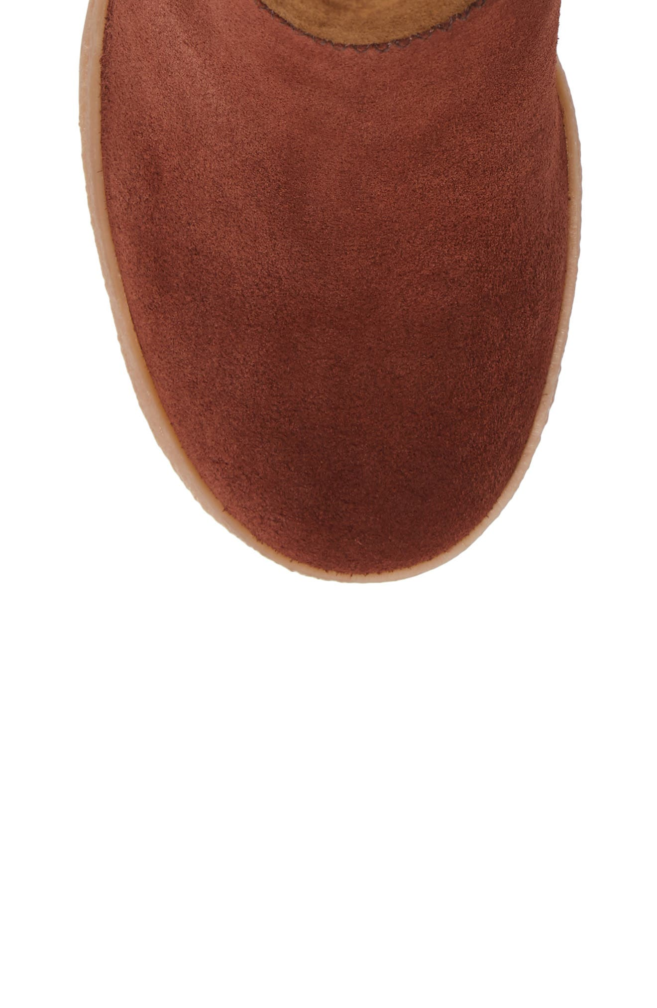 Polina Patchwork Bootie,                             Alternate thumbnail 5, color,                             Brown Multi