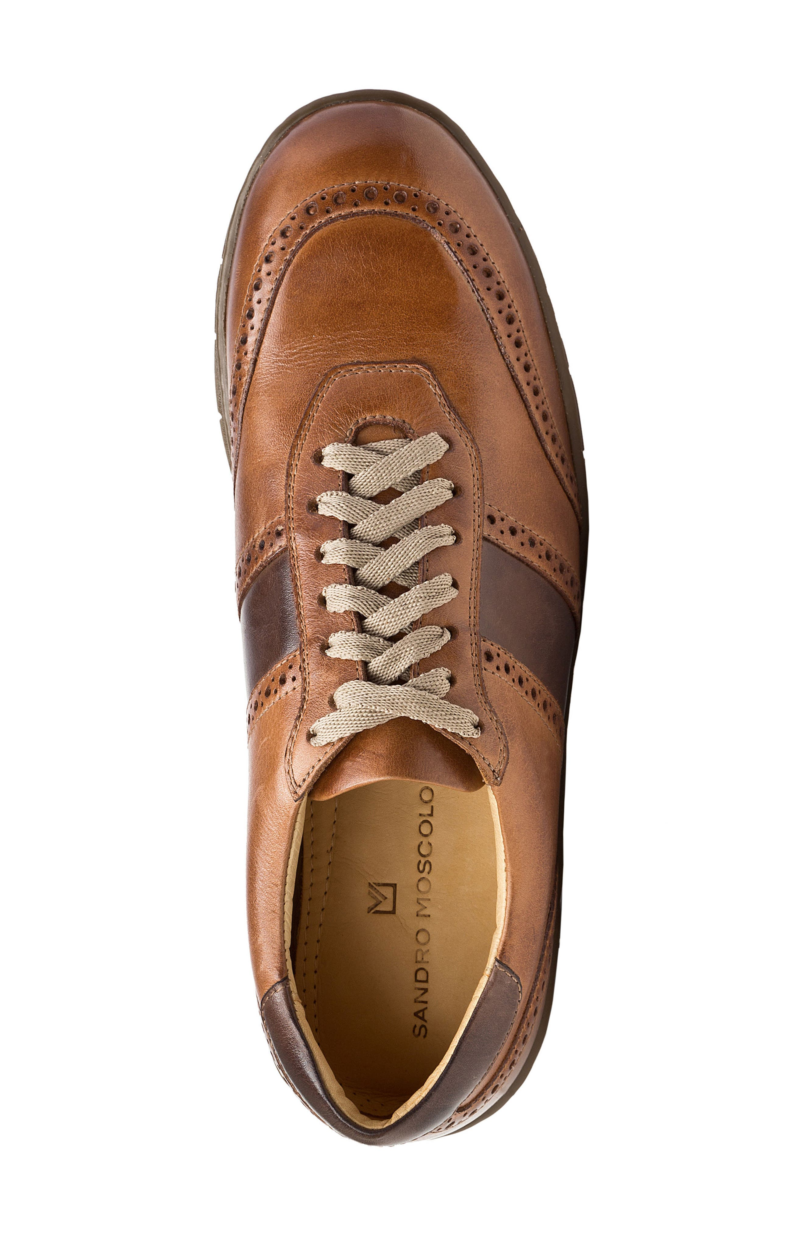 Norris Sneaker,                             Alternate thumbnail 5, color,                             Tan Leather