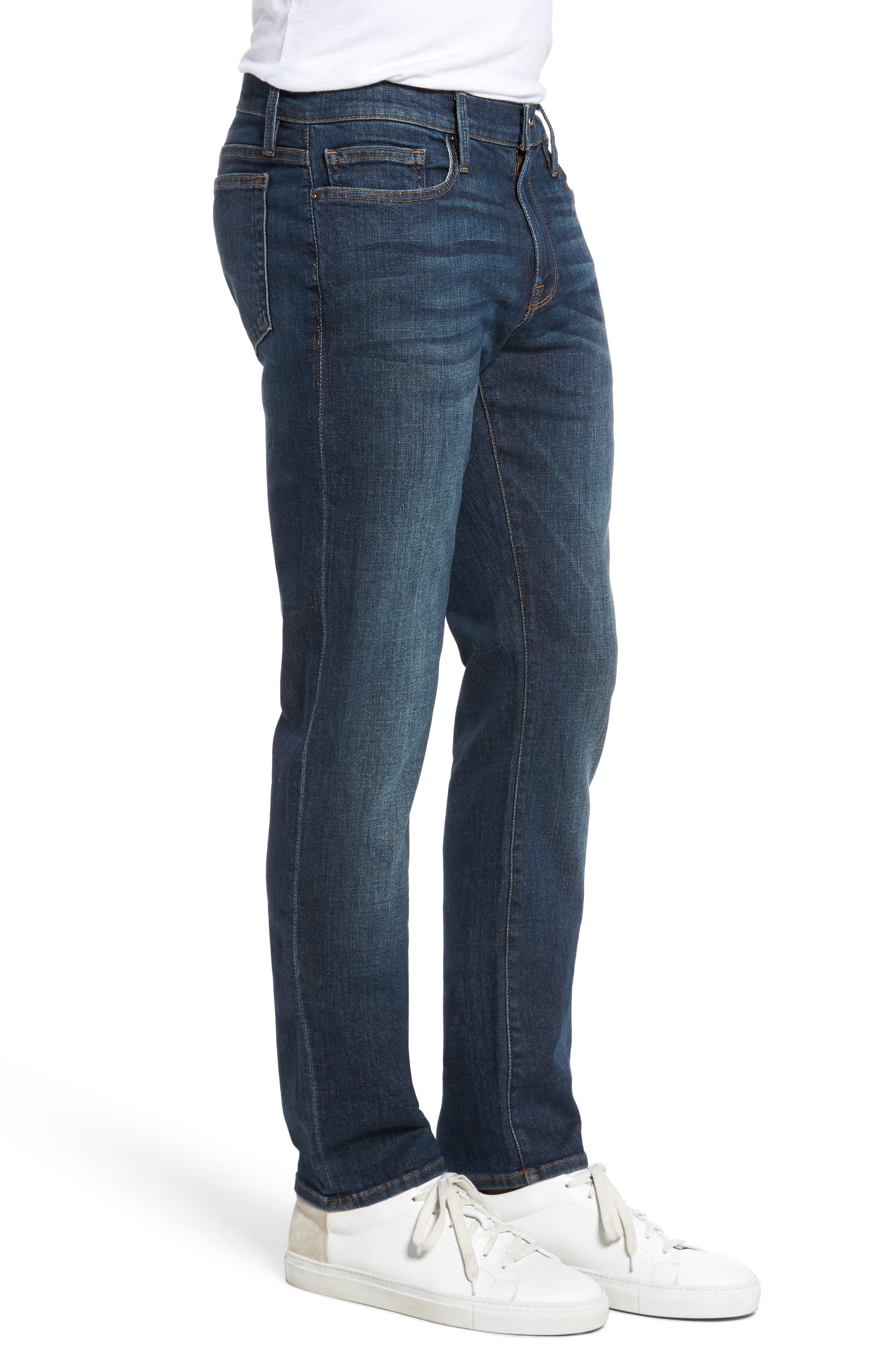 Alternate Image 3  - FRAME L'Homme Slim Fit Jeans (Midway Park)