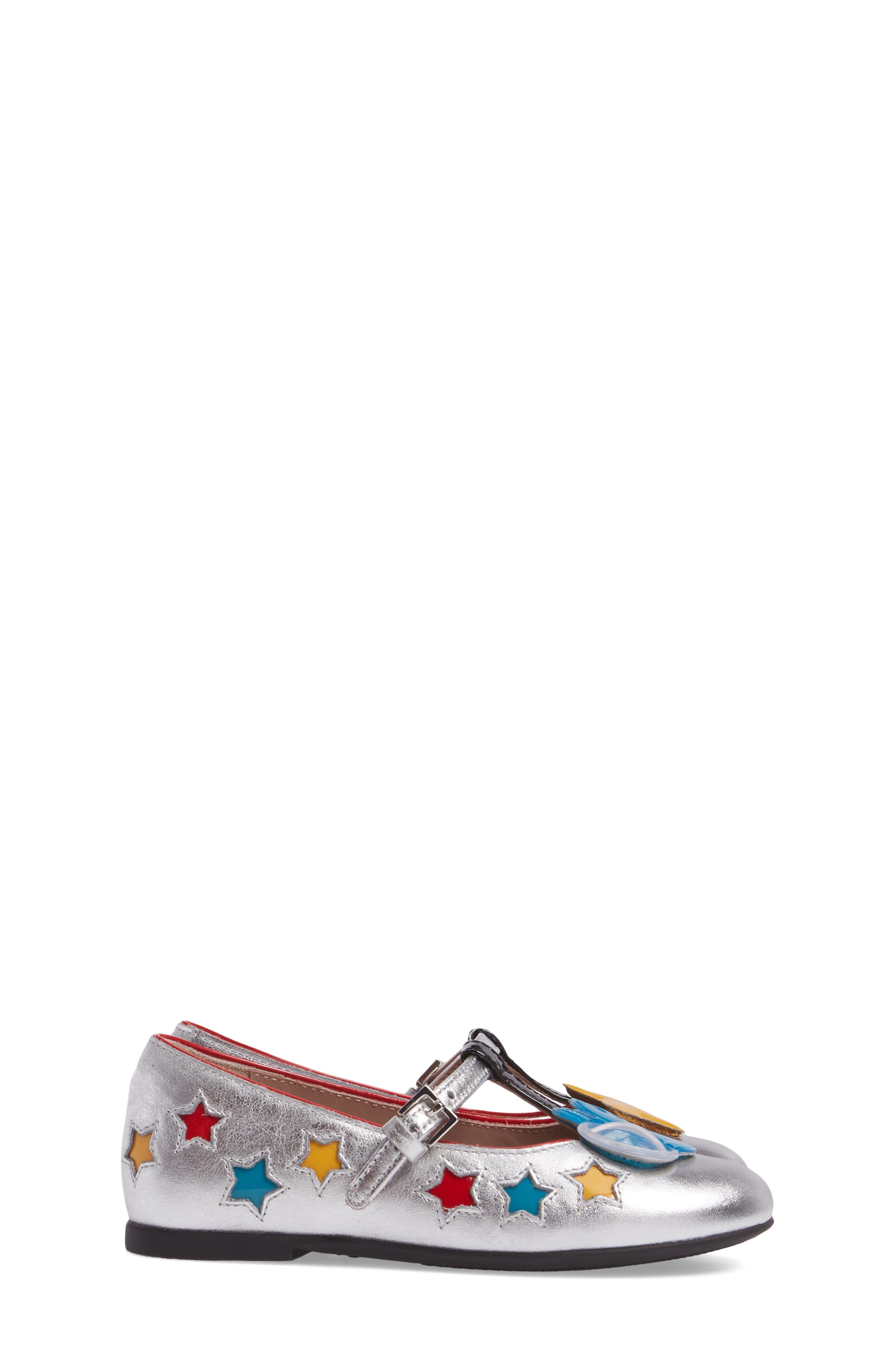 Stellar Mary Jane,                             Alternate thumbnail 3, color,                             Metallic Silver Star