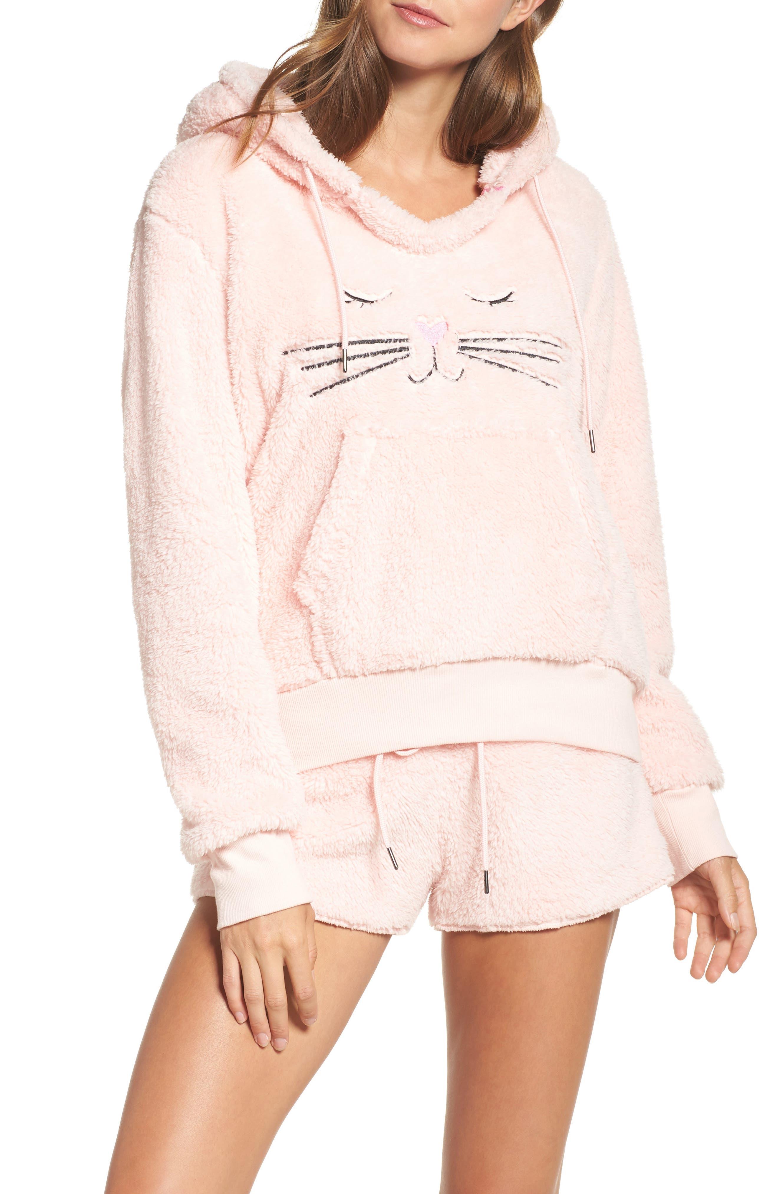 COZY ZOE Hooded Plush Pajamas