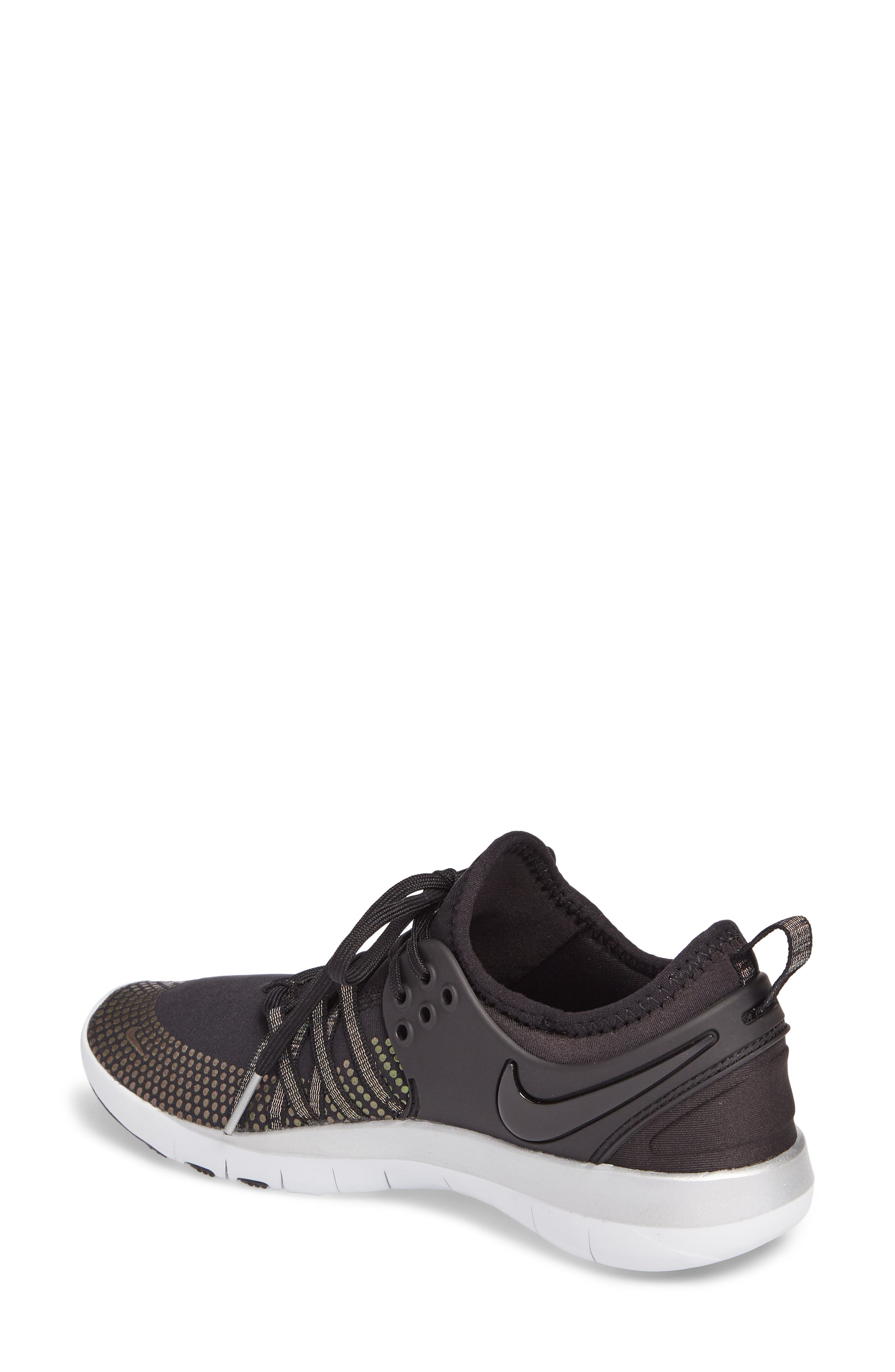Alternate Image 2  - Nike Free TR 7 Metallic Training Shoe (Women)