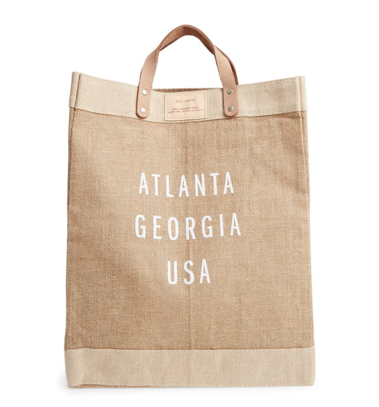 Apolis Market Bag Beige In Atlanta
