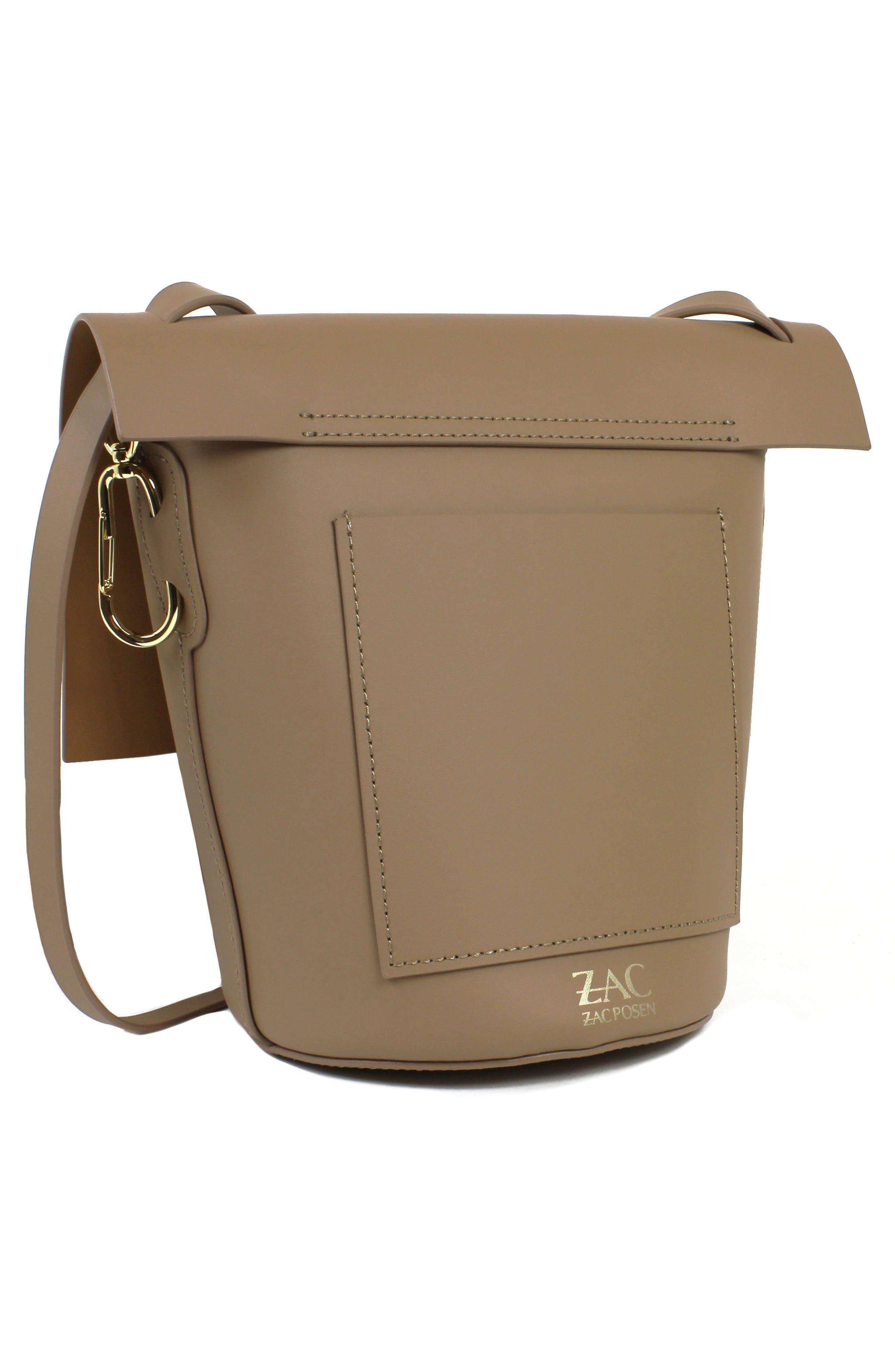 Belay Leather Bucket Bag,                             Alternate thumbnail 2, color,                             Seagull