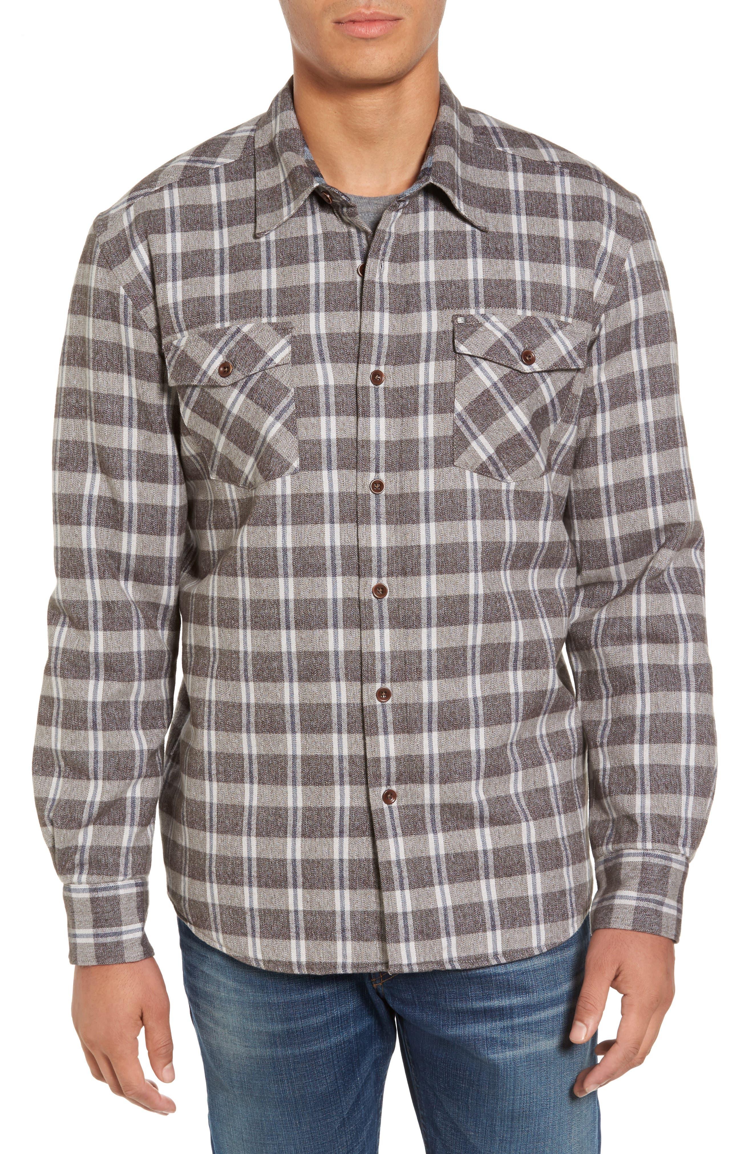 Cova Emerald Bay Regular Fit Plaid Shirt Jacket